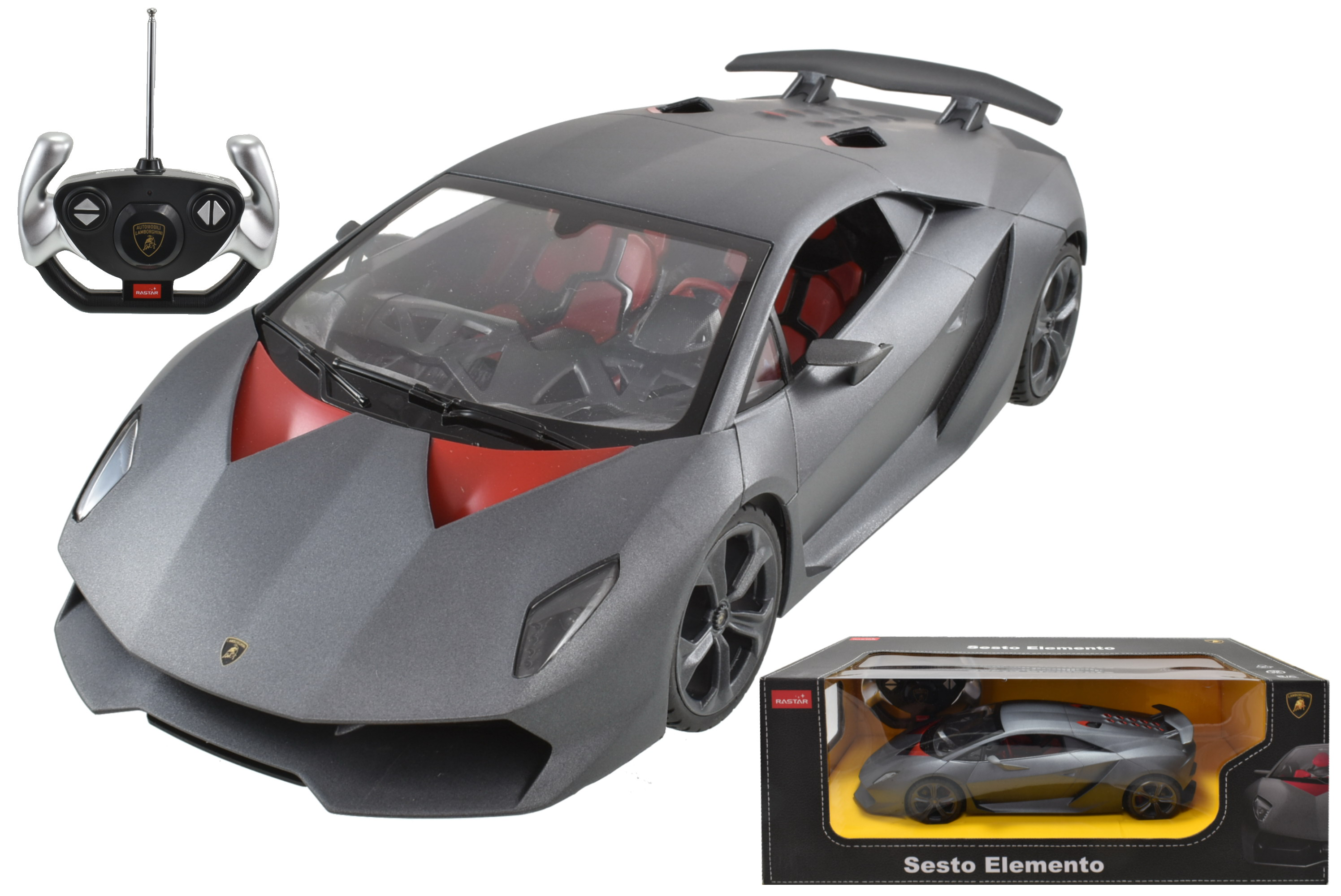 R/C Lamborghini Sesto Elemento 1:14sc In Window Box