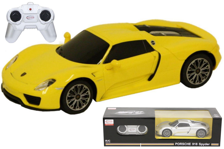 R/C Porsche 918 Spyder 1:24sc (2 Asst) In Window Box