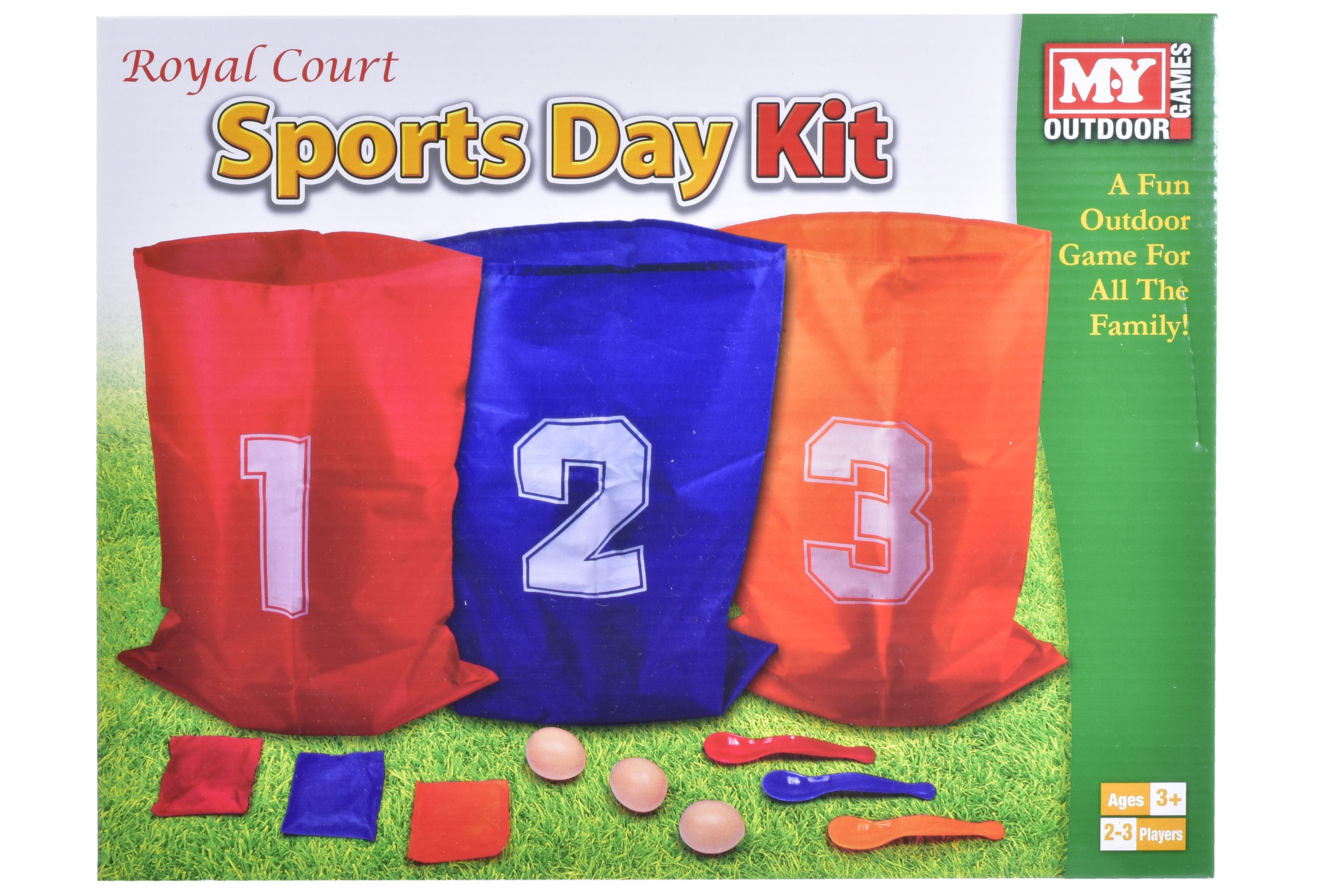 3 Player Sports Kit Set In Colour Box