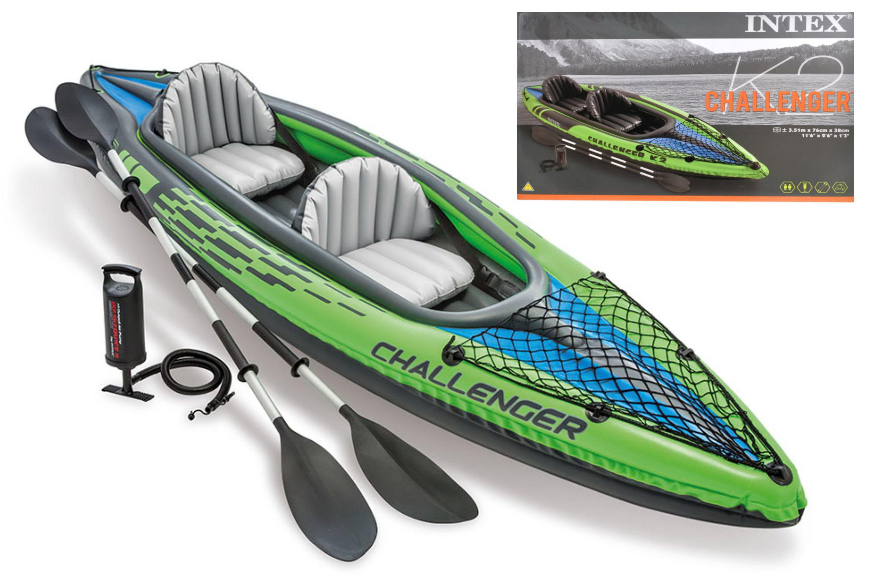 "Challenger K2 Kayak Set 138"" x 30"" x 15"""