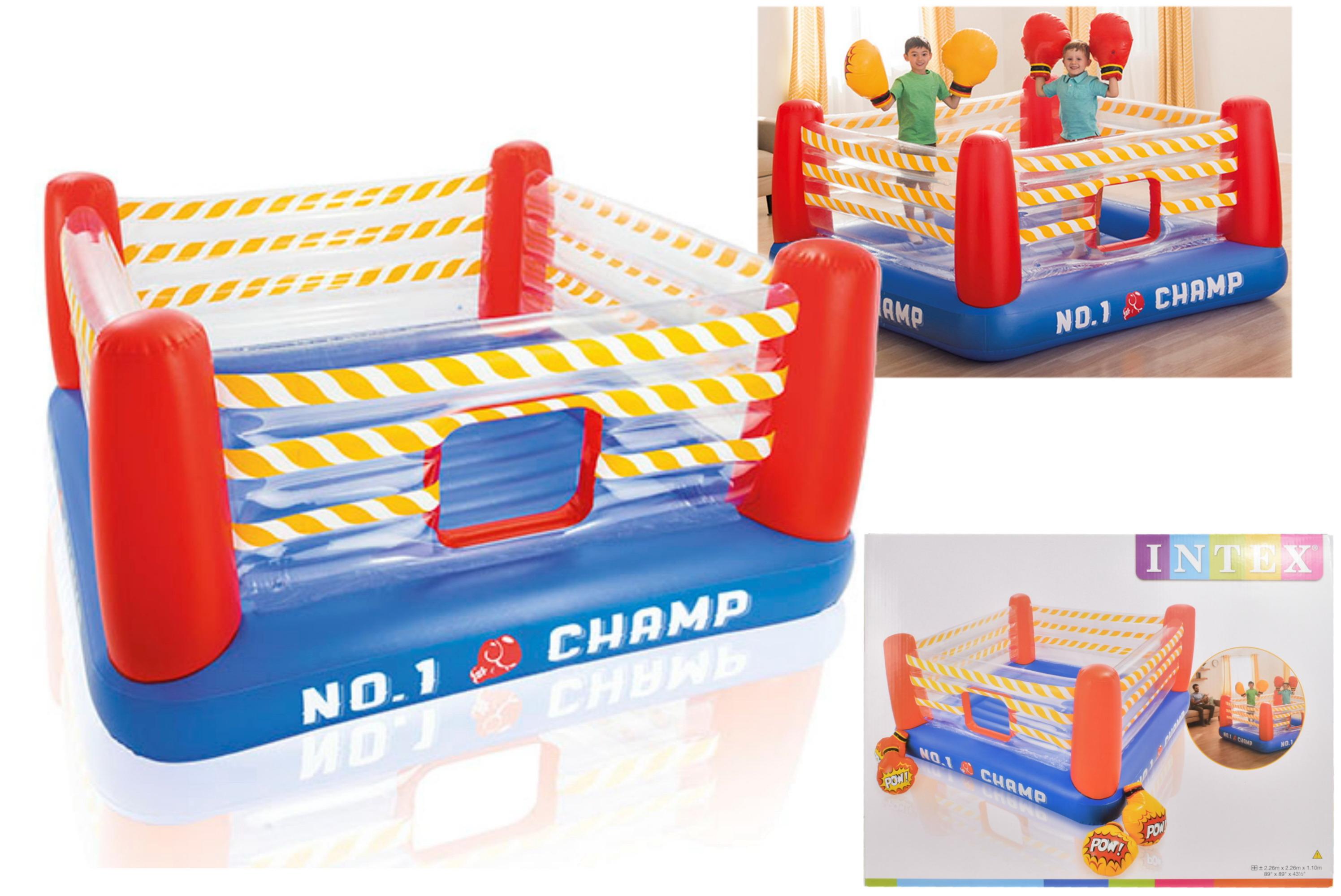 """Jump-O-Lene Boxing Ring Bouncer 89""""X89x44.5"""