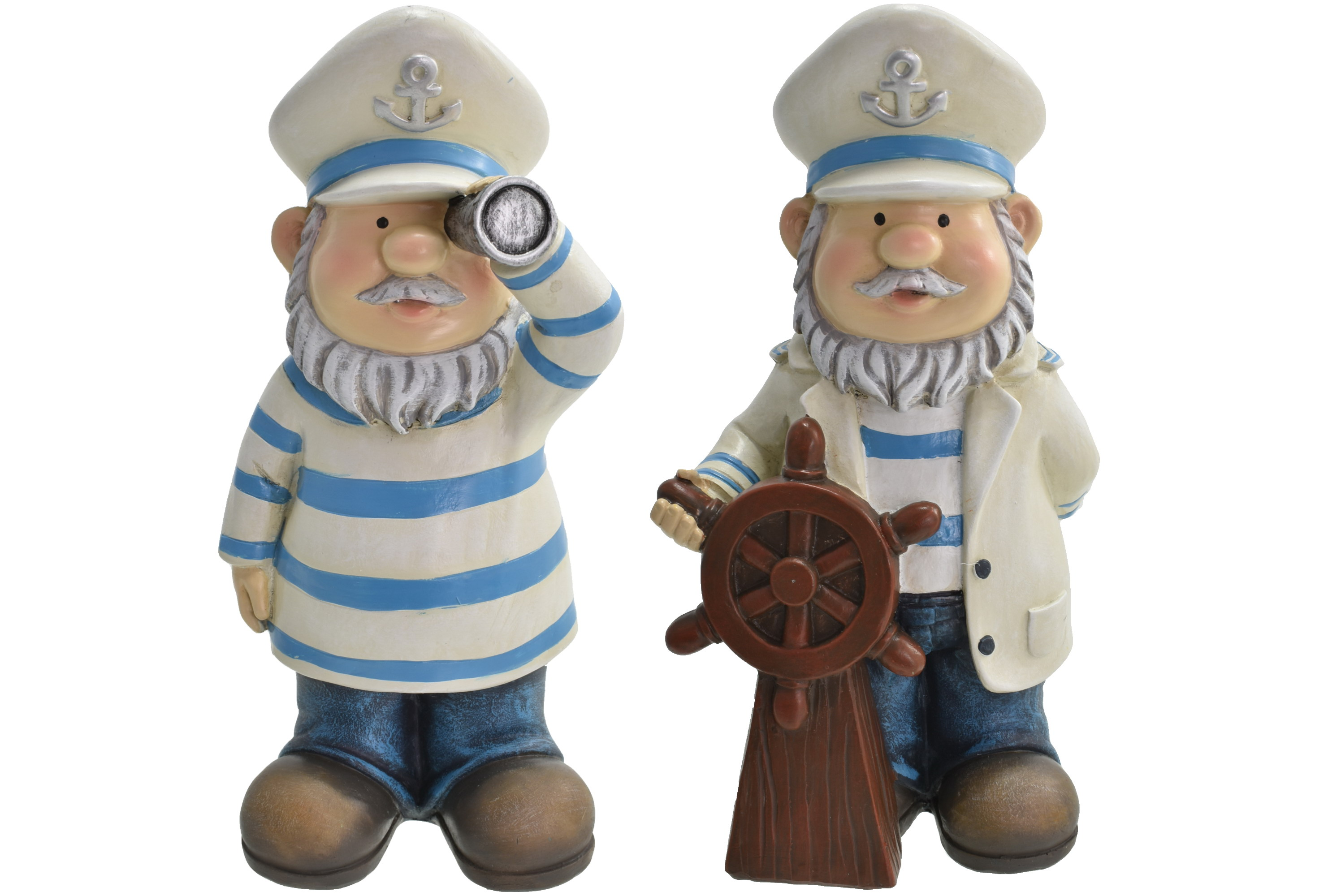 20cm Gnautical Captain Gnome 2 Assorted Designs