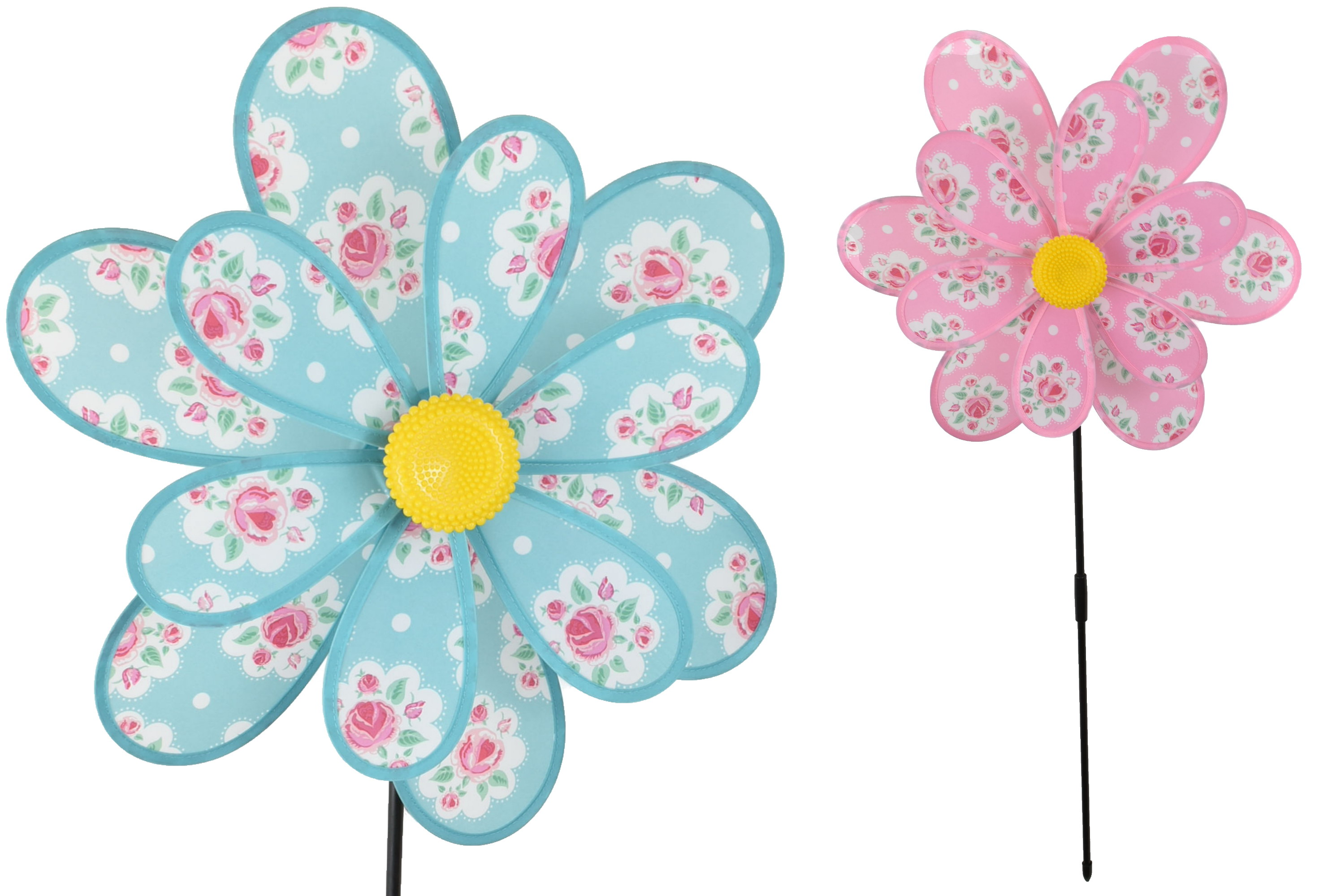 Double Flower Windmill 2 Assorted Colours