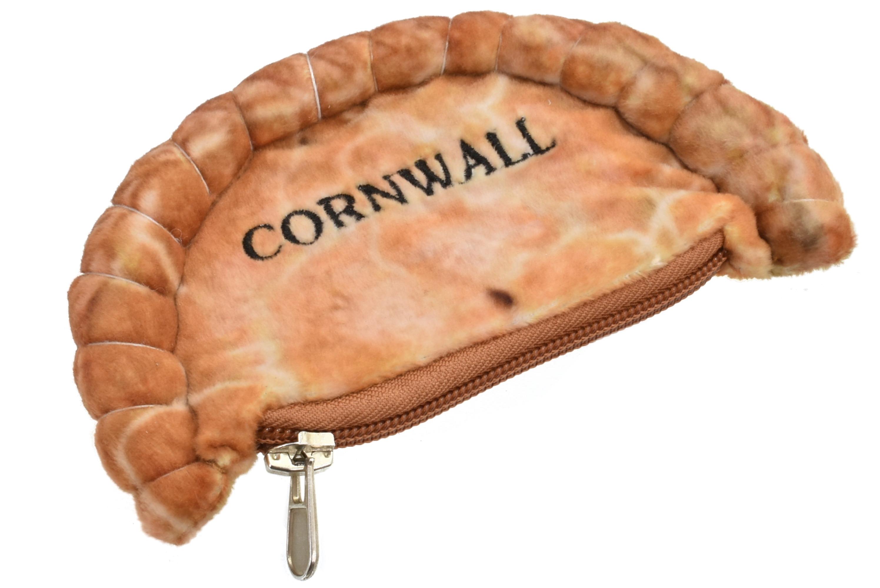 15cm Plush Pasty Purse - Cornwall
