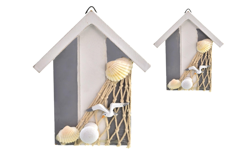 Single Wooden Beach Hut Hanger