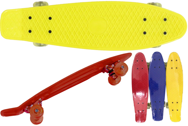"Retro Skateboard Abec 7 Bearing - Length 21""/53cm"