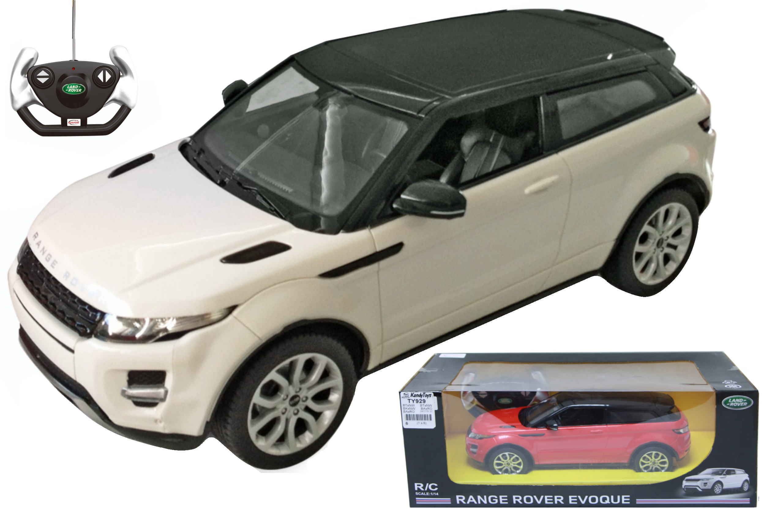 1:14sc Radio Controlled Range Rover Evoque