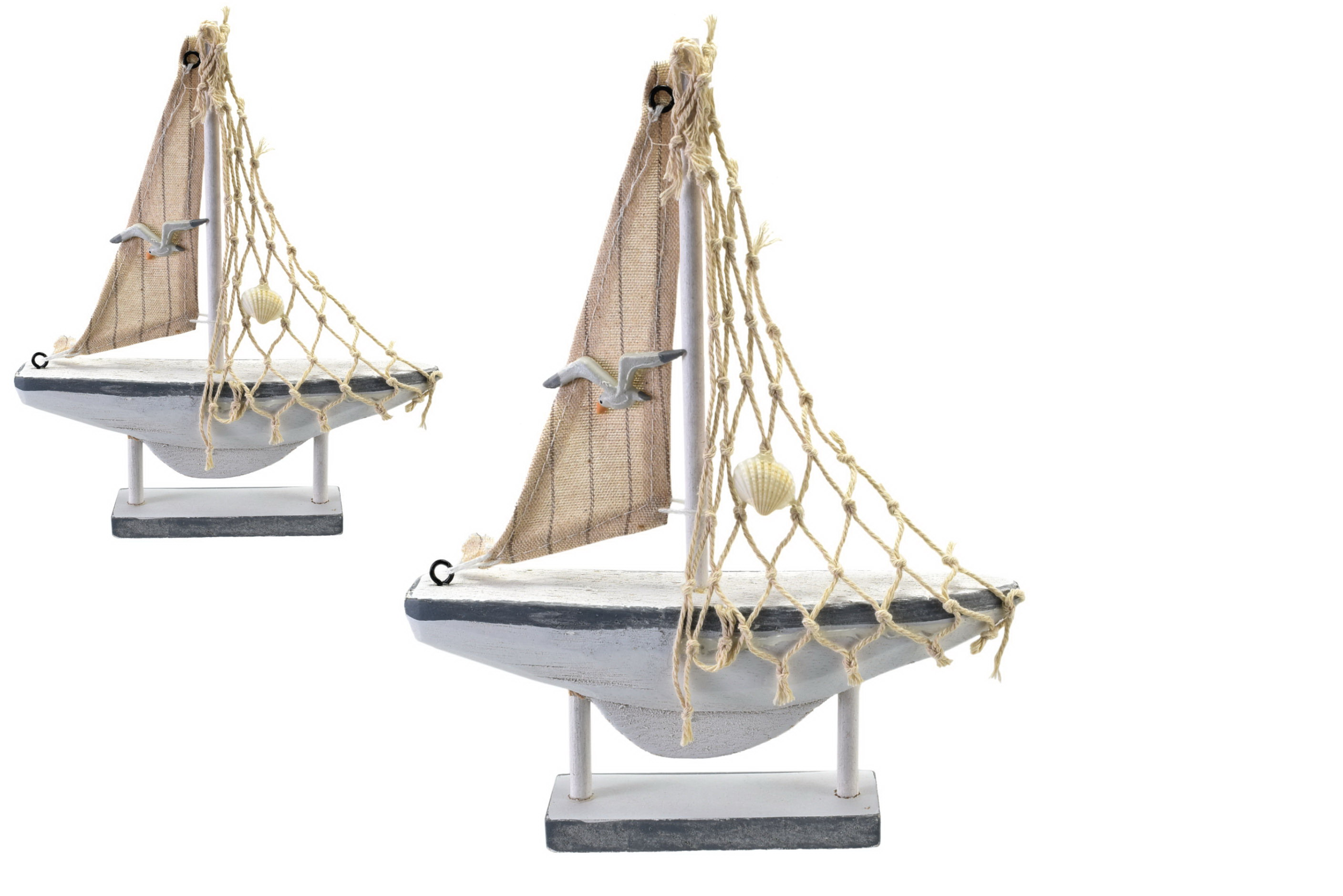 20.5cm Wooden Boat