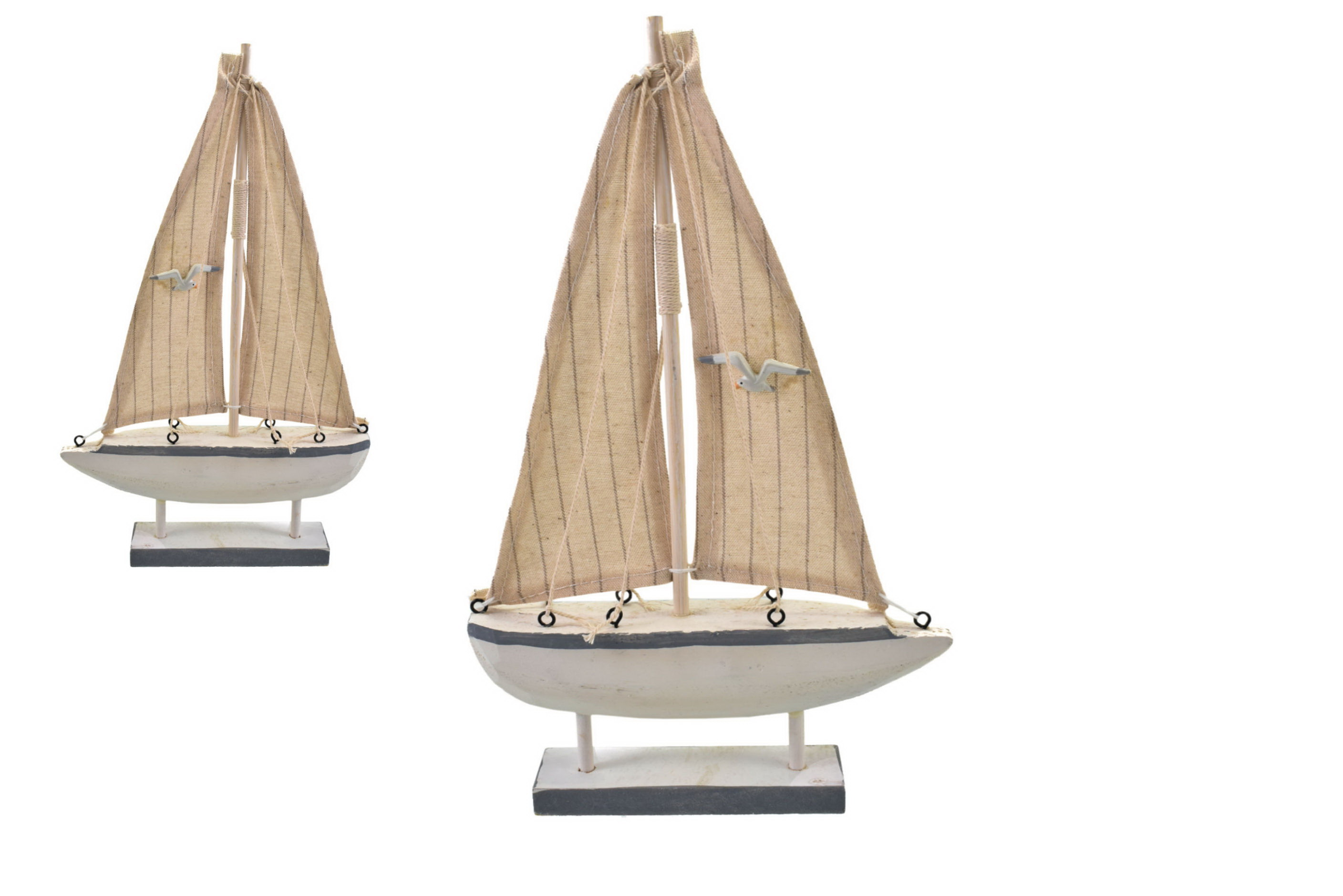 31cm Wooden Boat