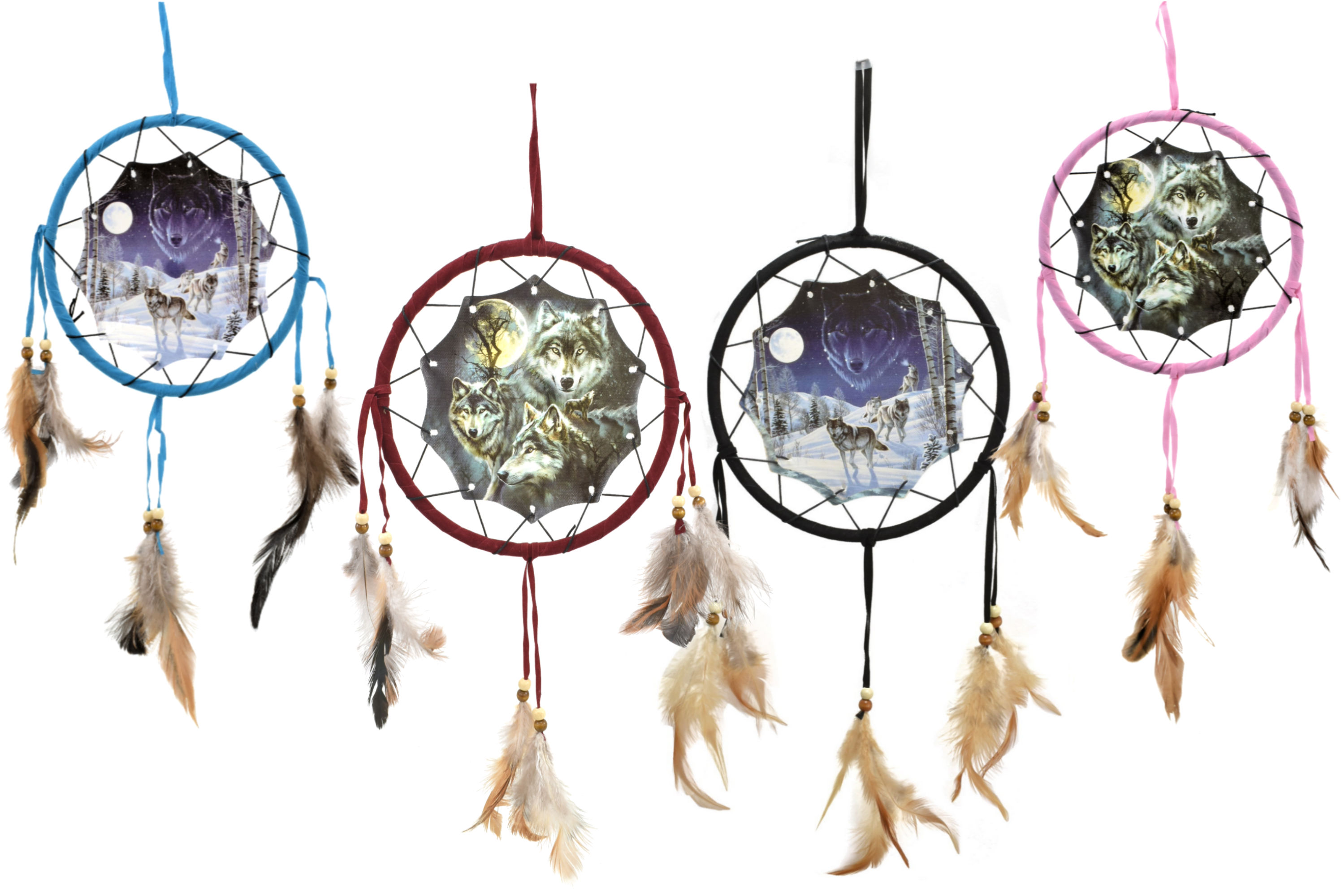7.5 Inch Dream Catcher With Picture In Polybag