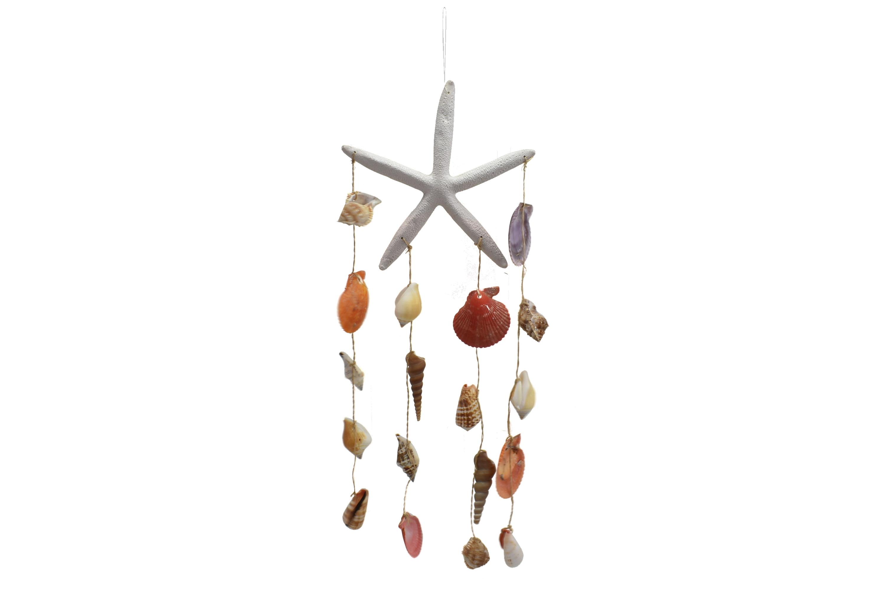 Resin Starfish Shell Hanger
