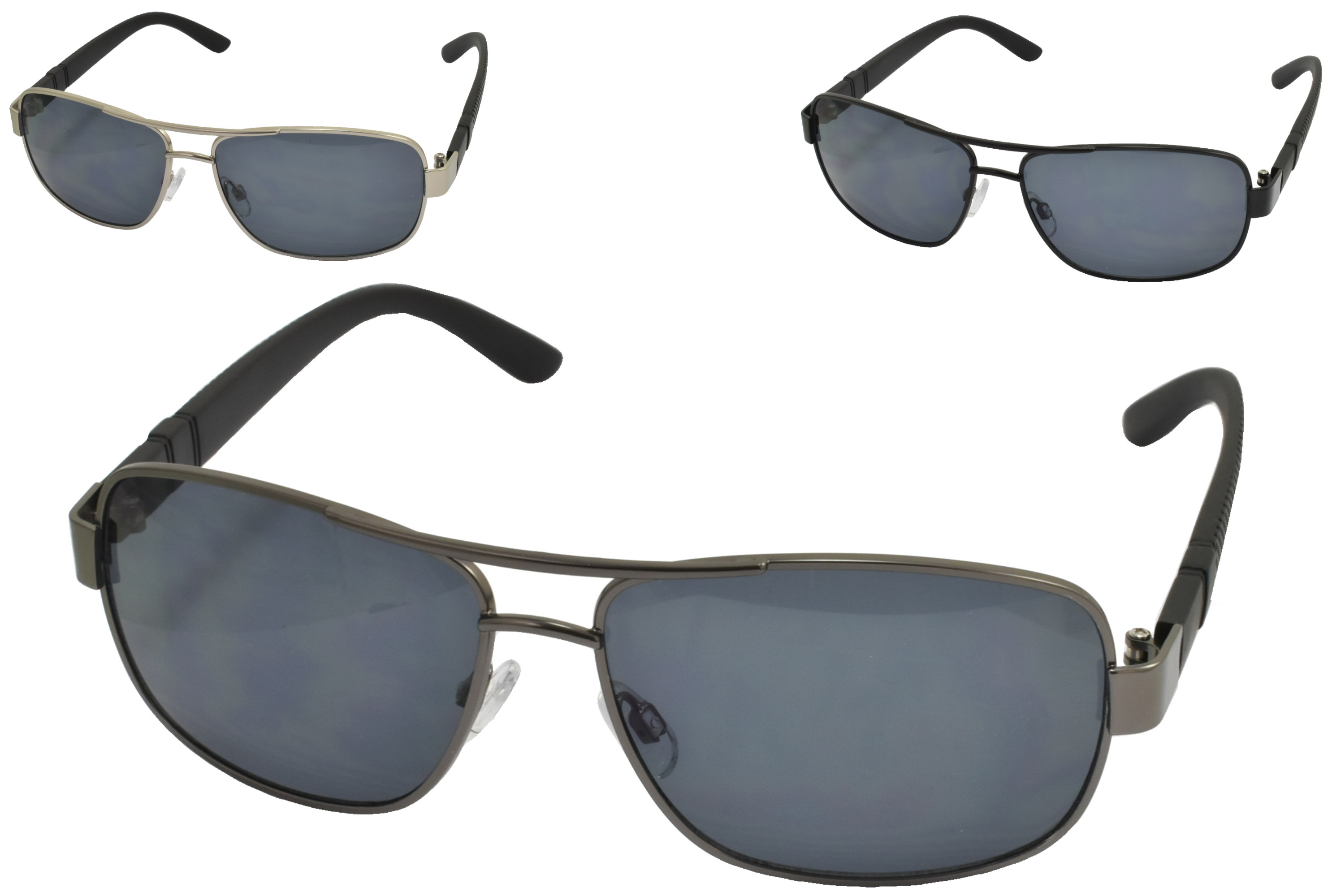 Adults Metal Frame Sunglasses (3 Assorted)