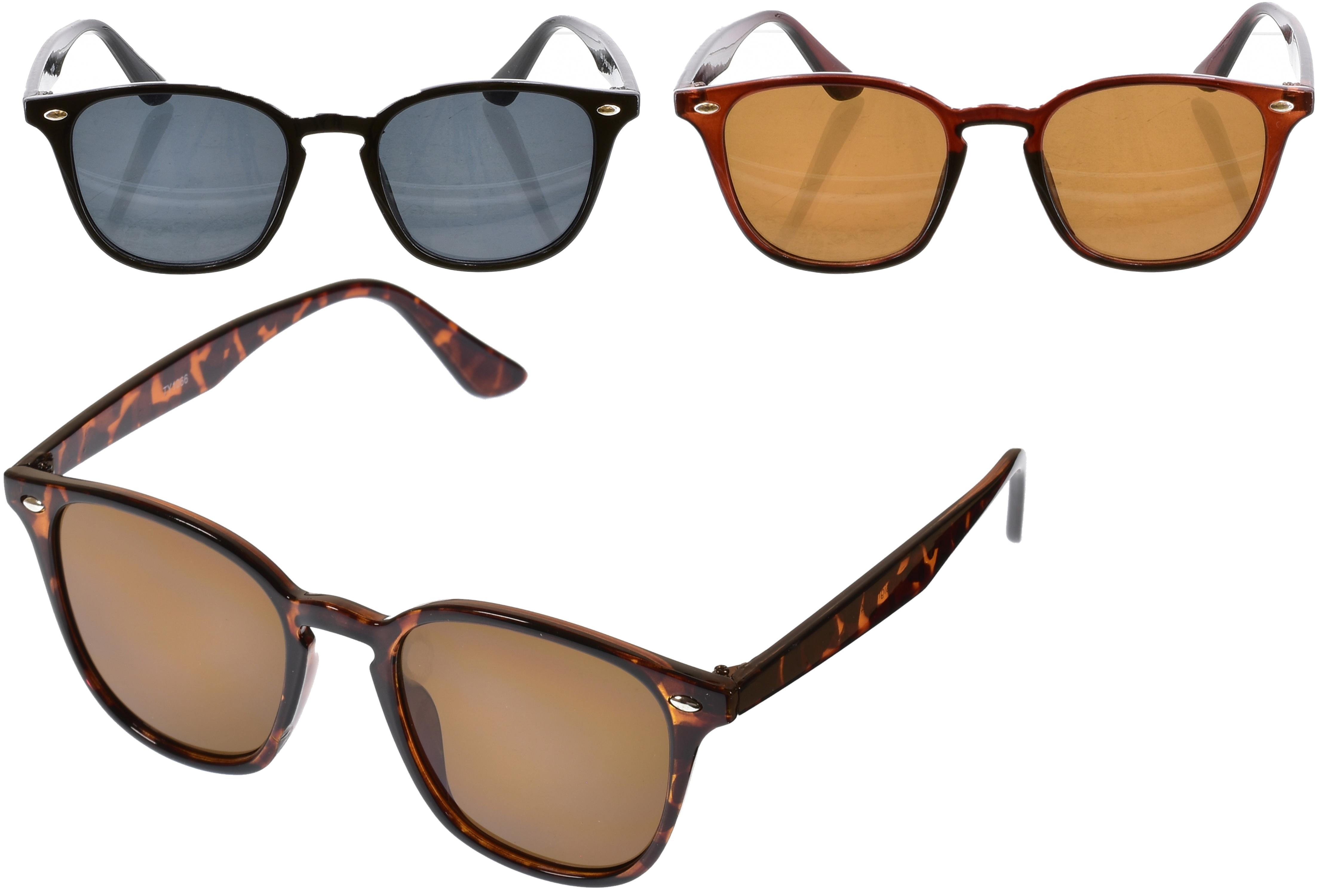 Adults Plastic Designers Sunglasses (3 Assorted)