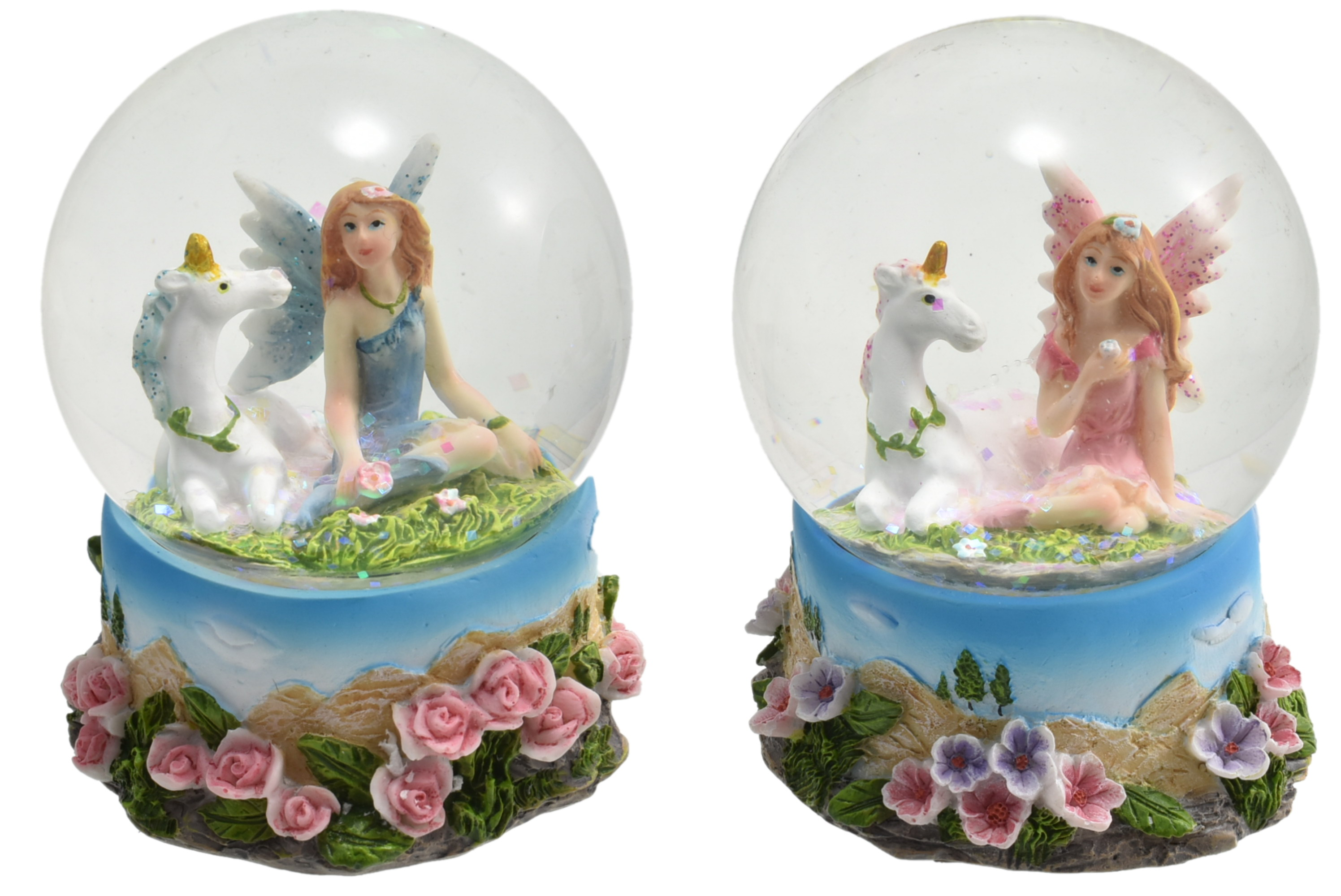 65mm Fairy & Unicorn Waterball 2 Assorted Pink/Purple