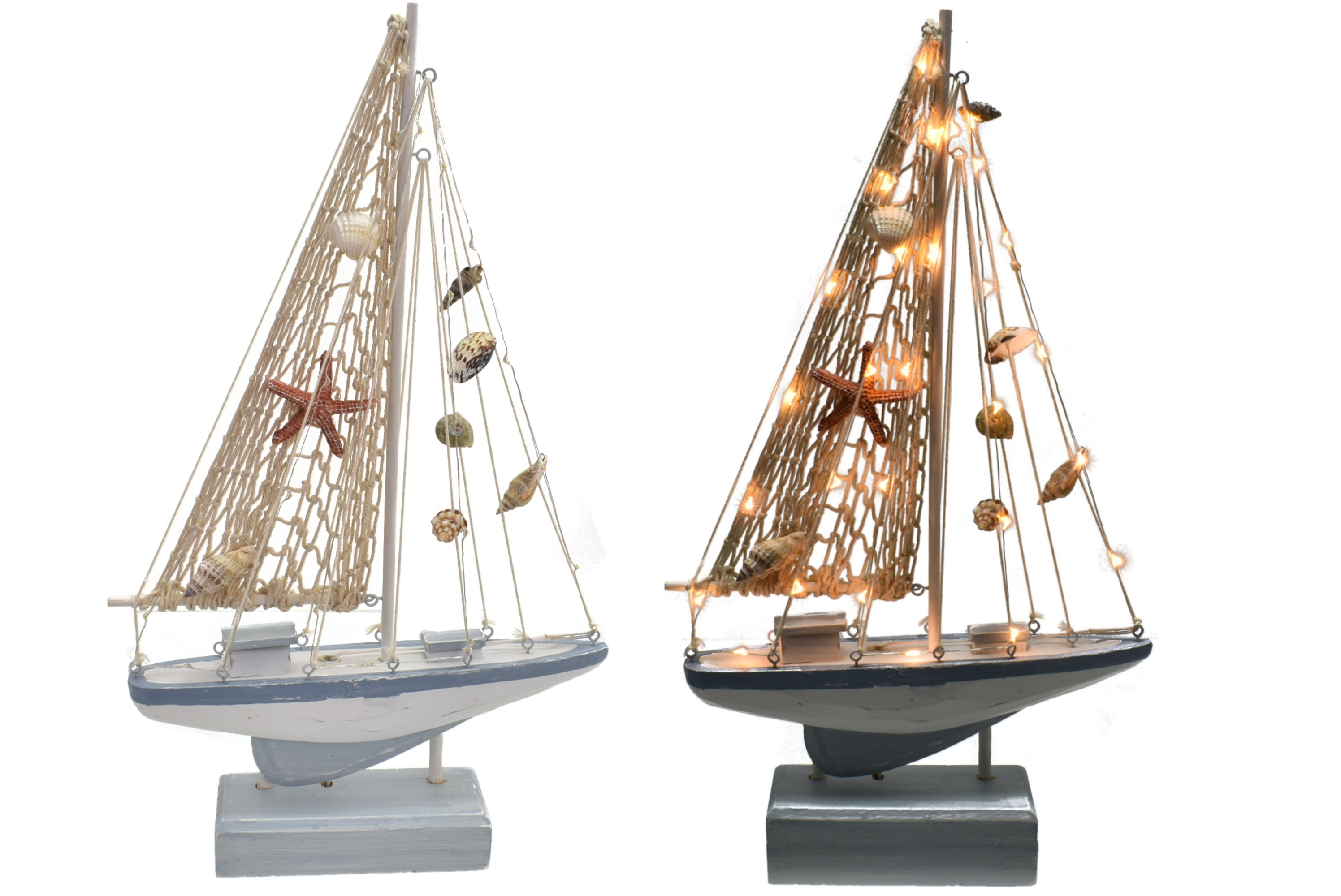 41cm Yacht With 34 Led Lights
