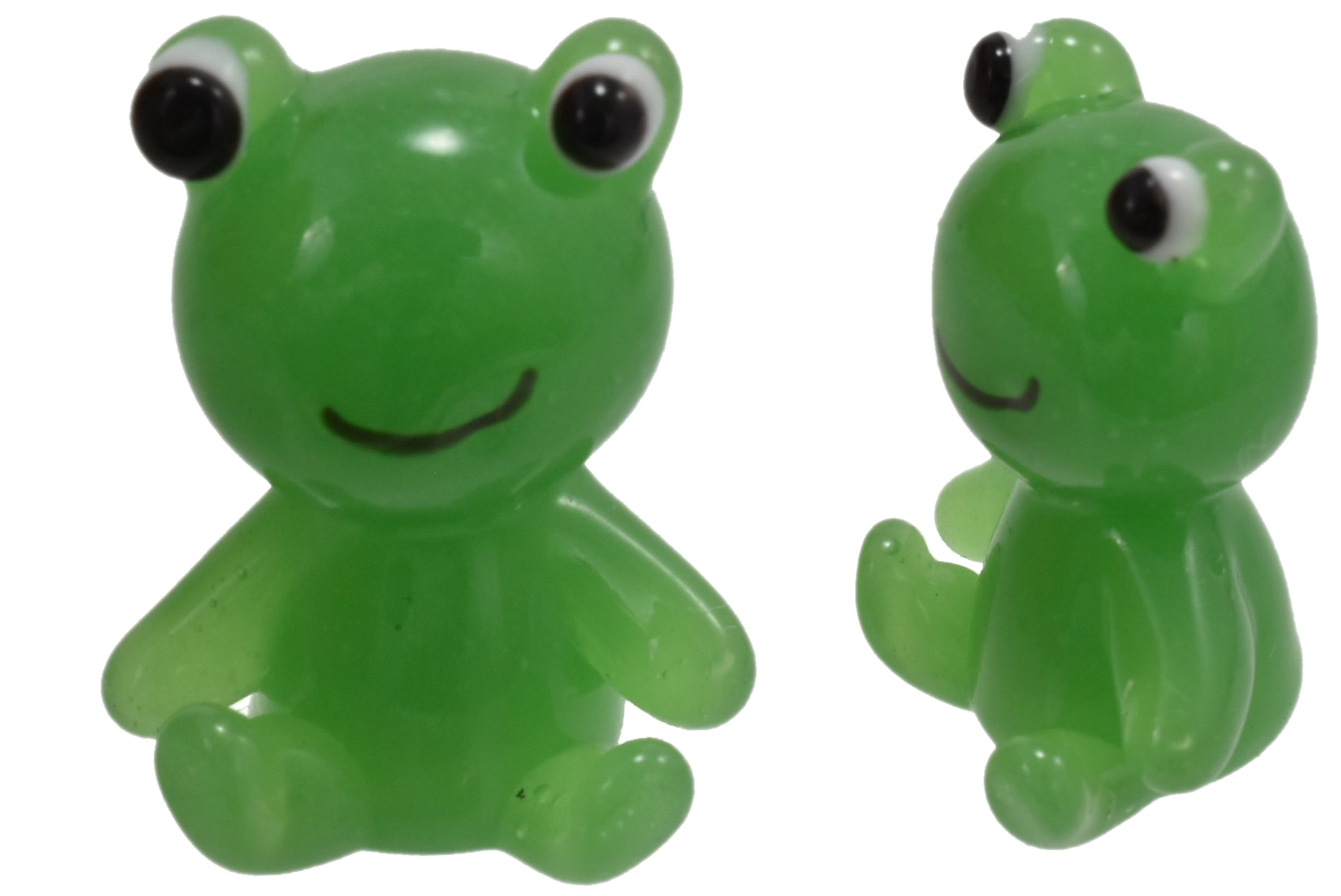 2cm Glass Frog Ornament