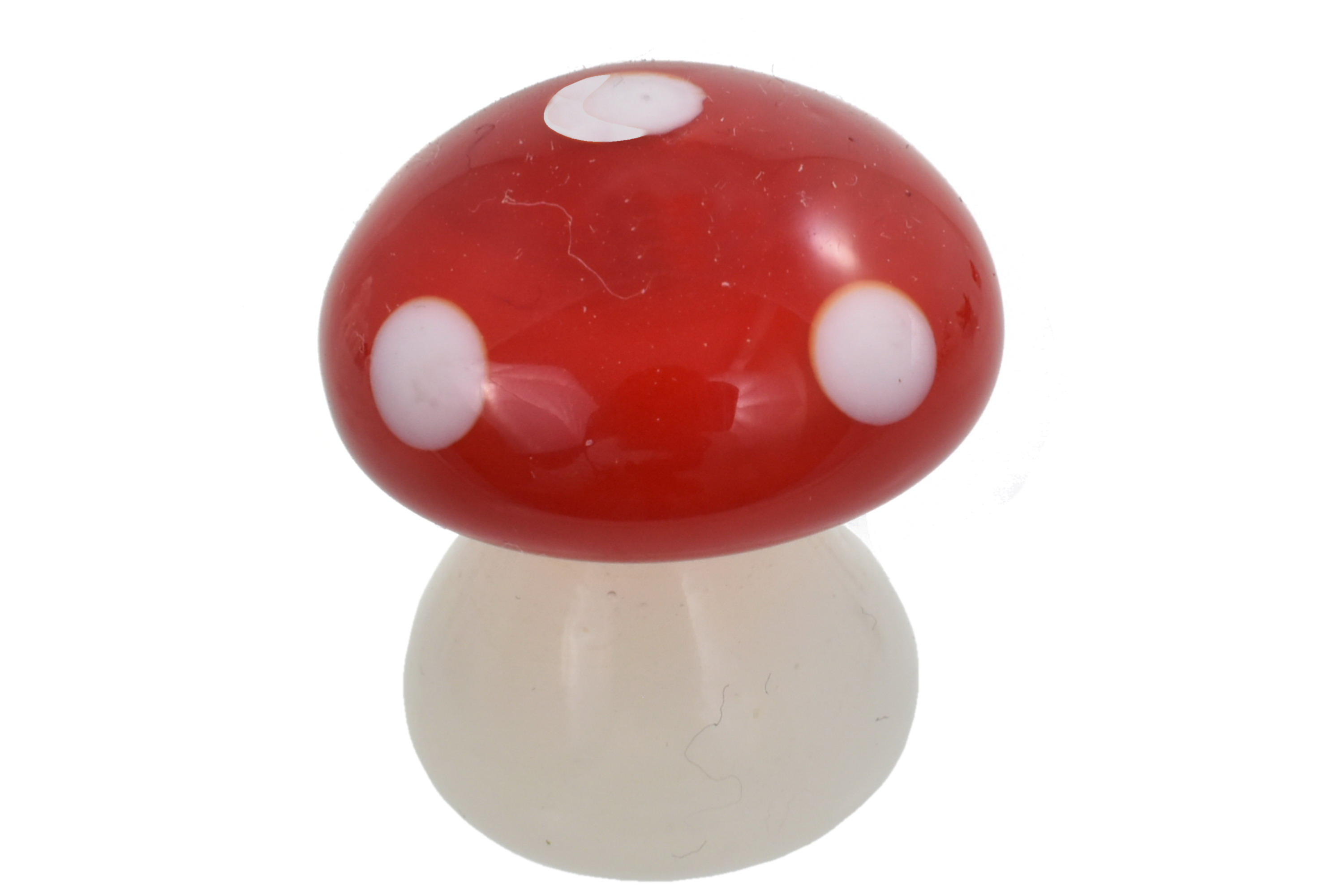 3cm Glass Mushroom Ornament