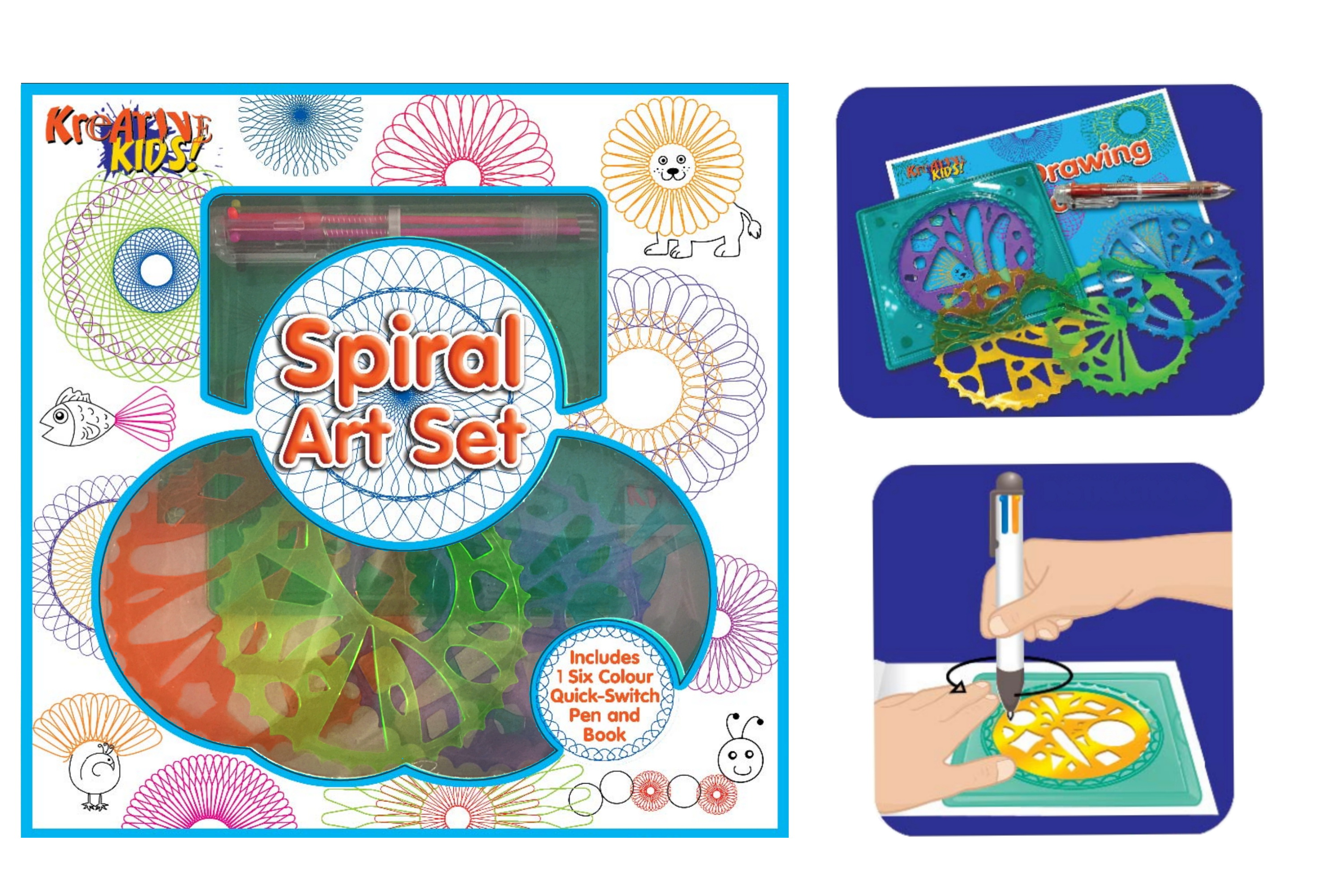 Spiral Art Playset In Window Box