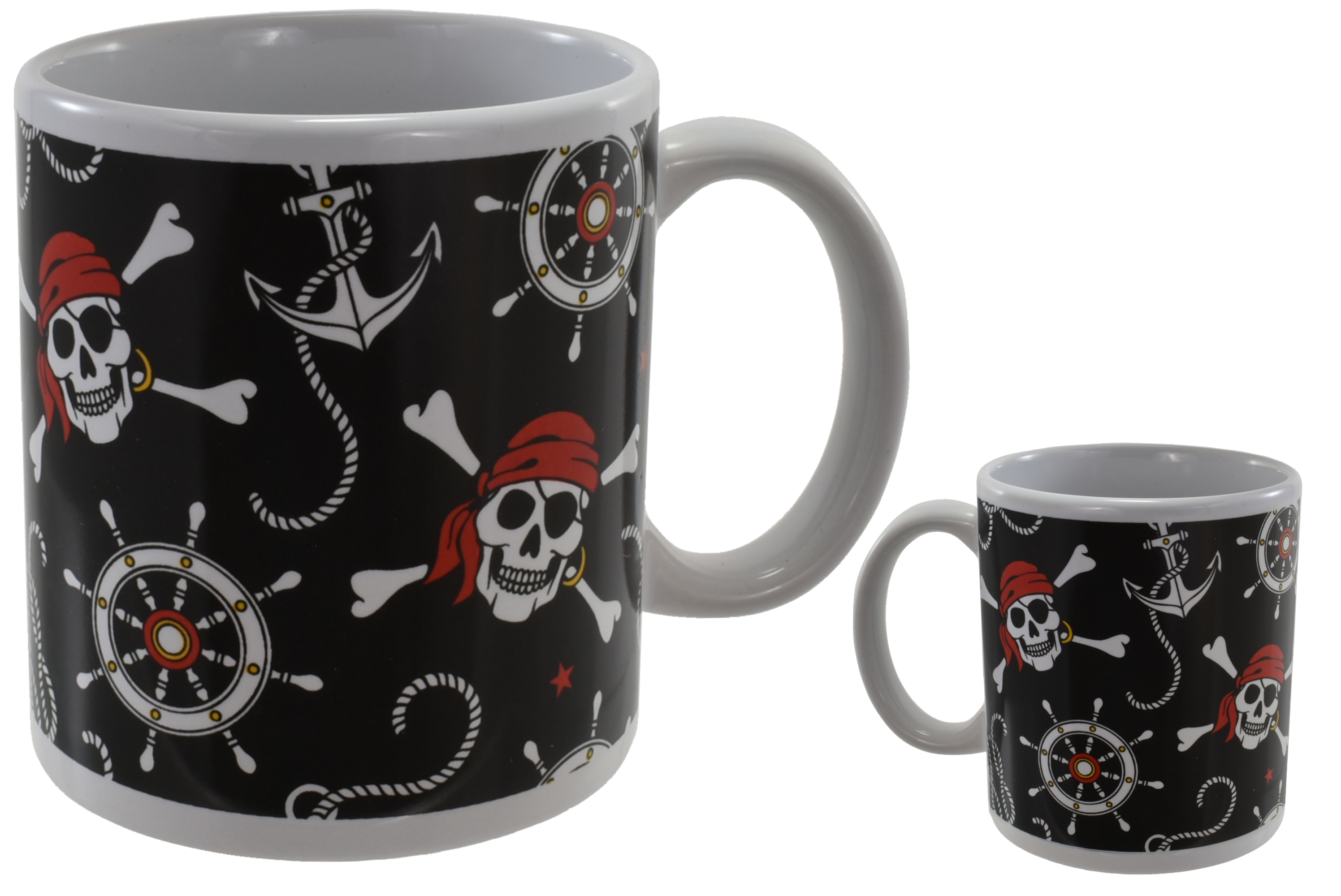Pirate Mug Stoneware 10oz