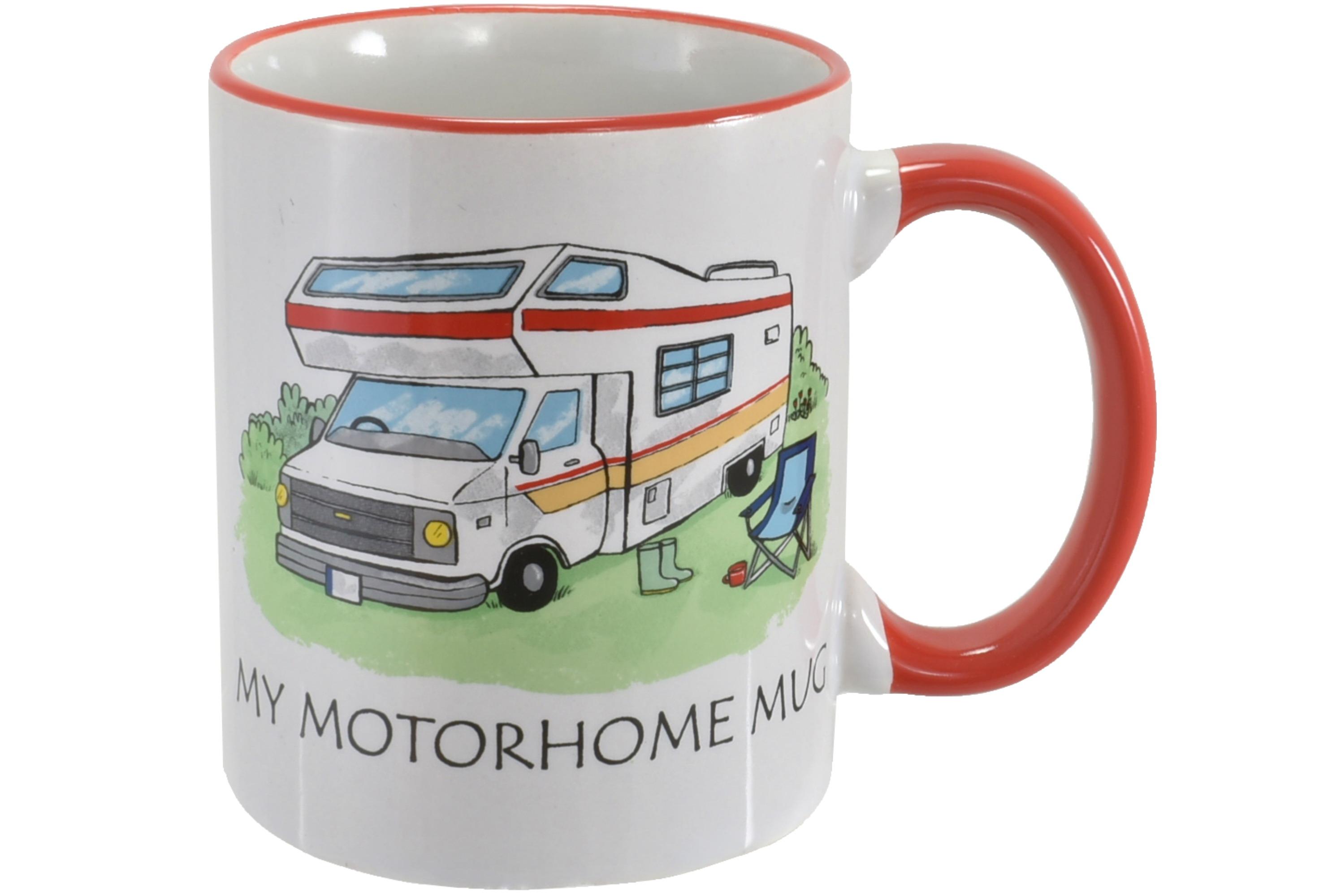 Motorhome Mug Stoneware 10oz