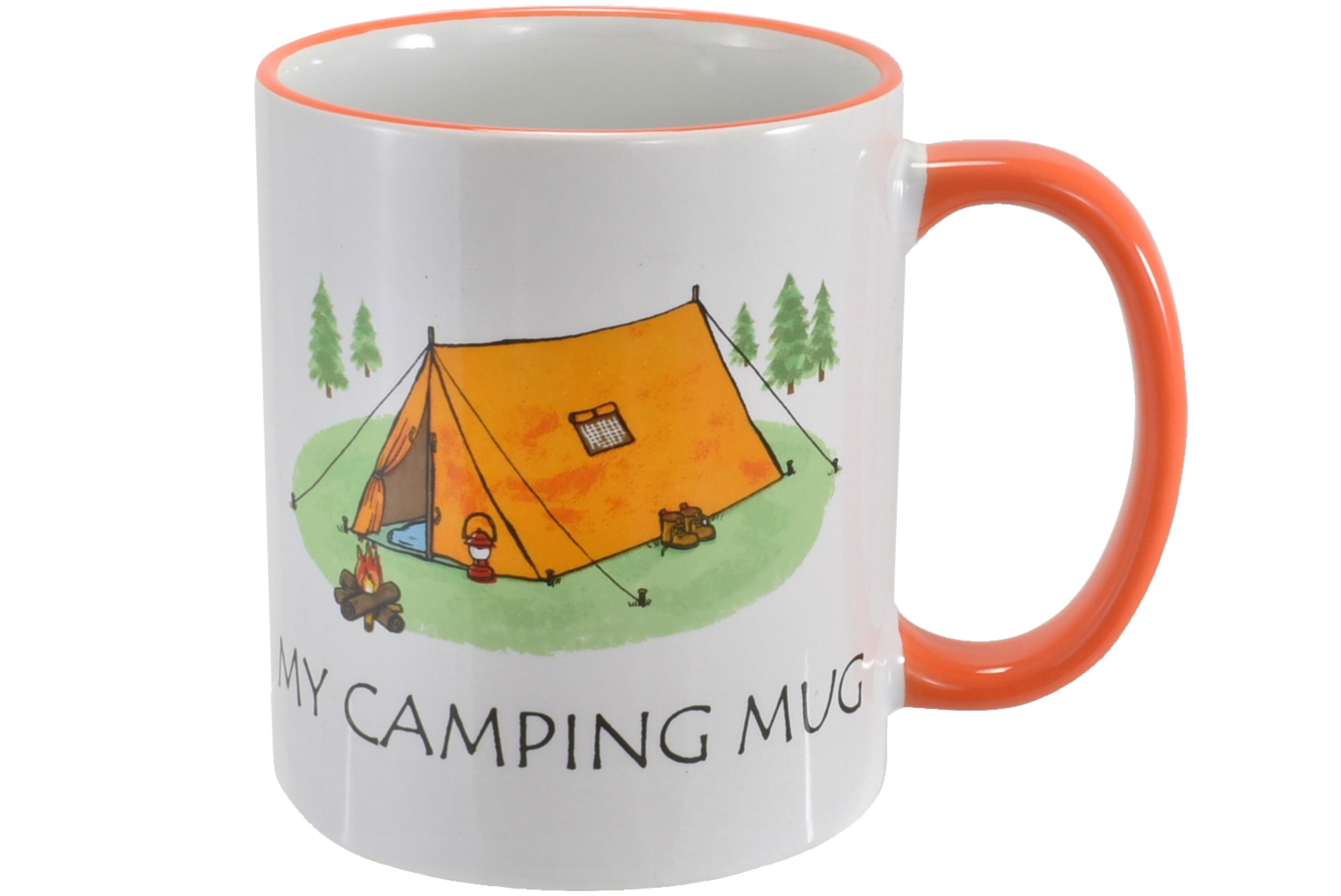 Camping Mug Stoneware 10oz