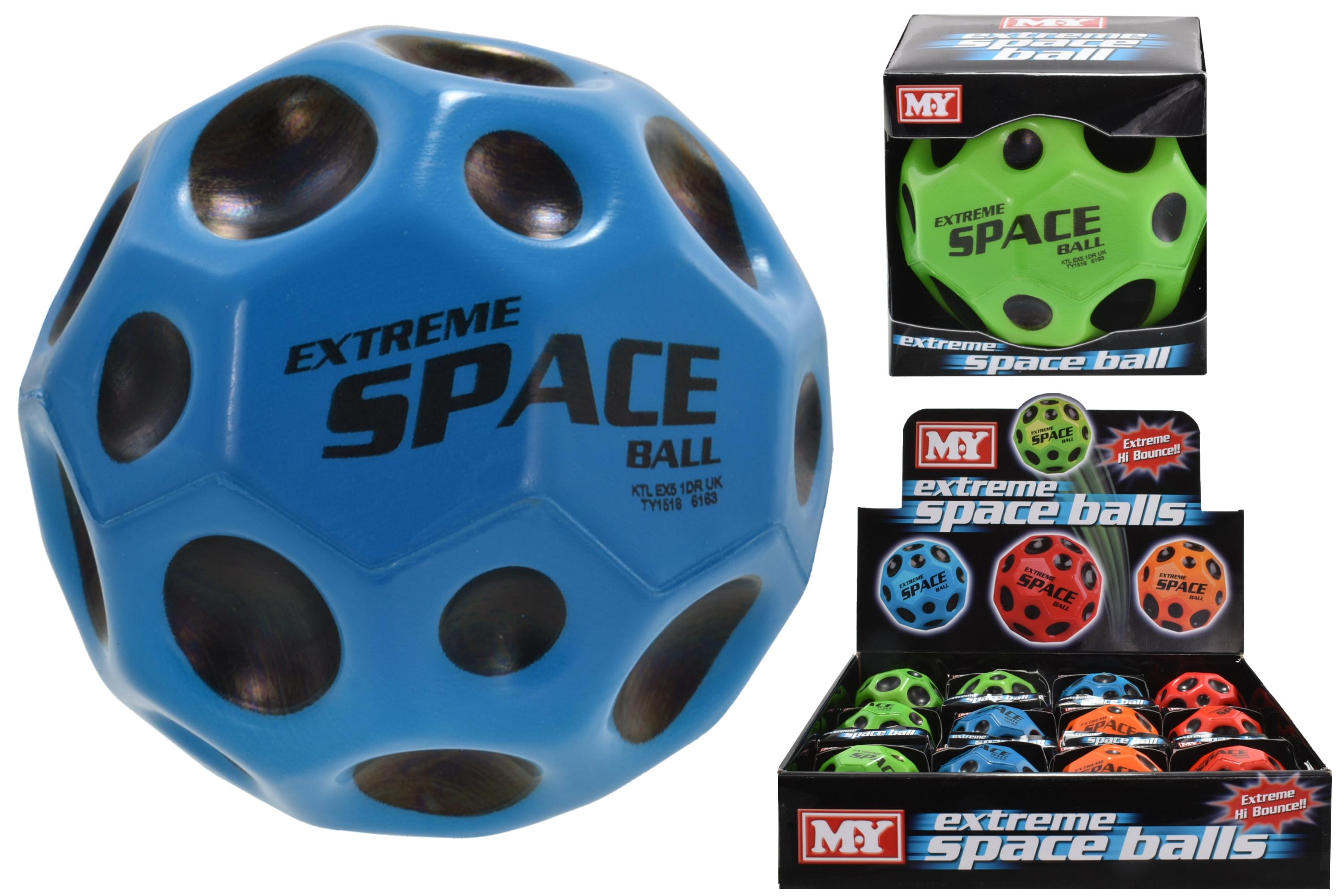 "65mm Pu Extreme Space Ball (4 Asst Cols) ""M.Y"" C/Box Db"