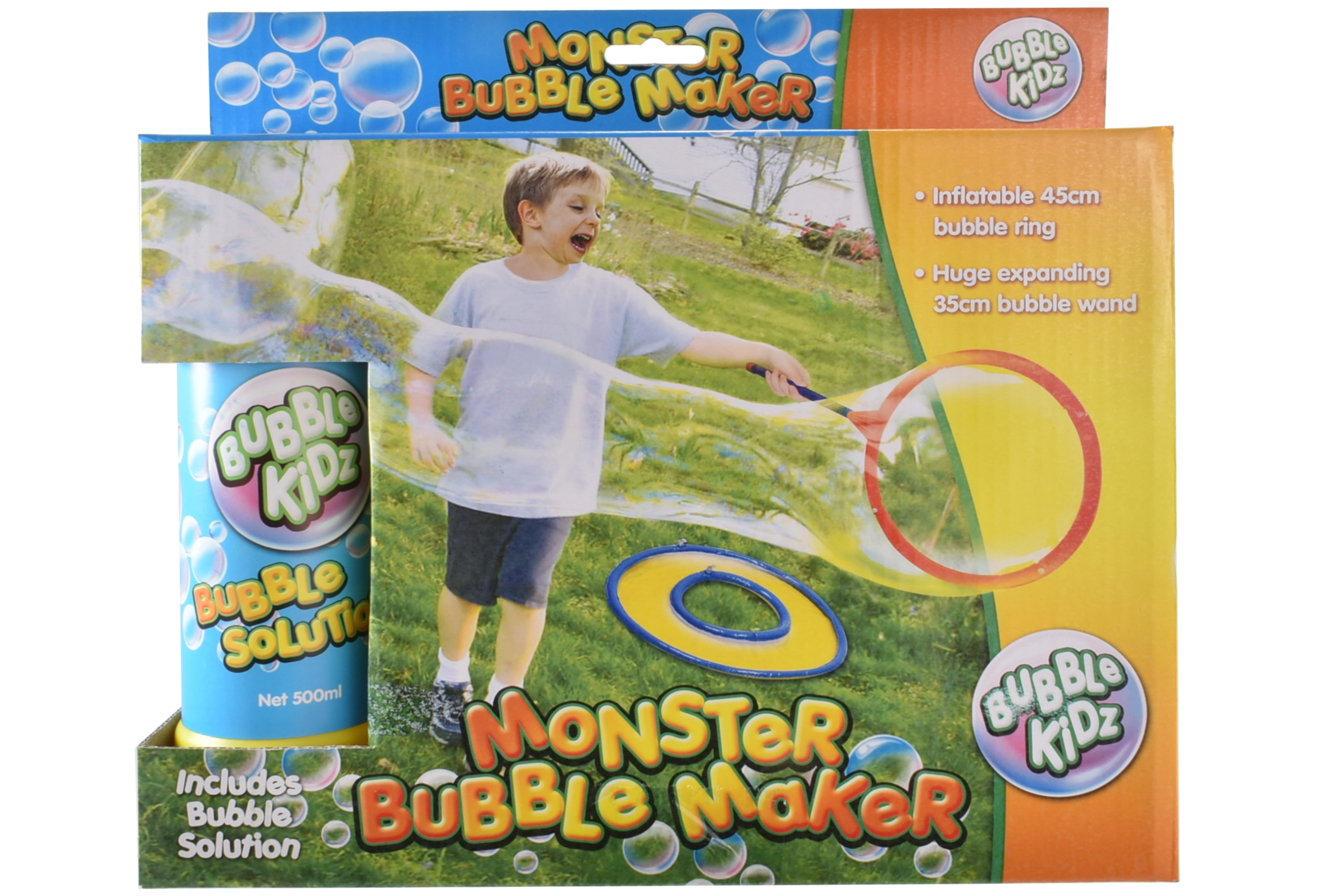 Monster Bubble Maker Playset In Colour Box