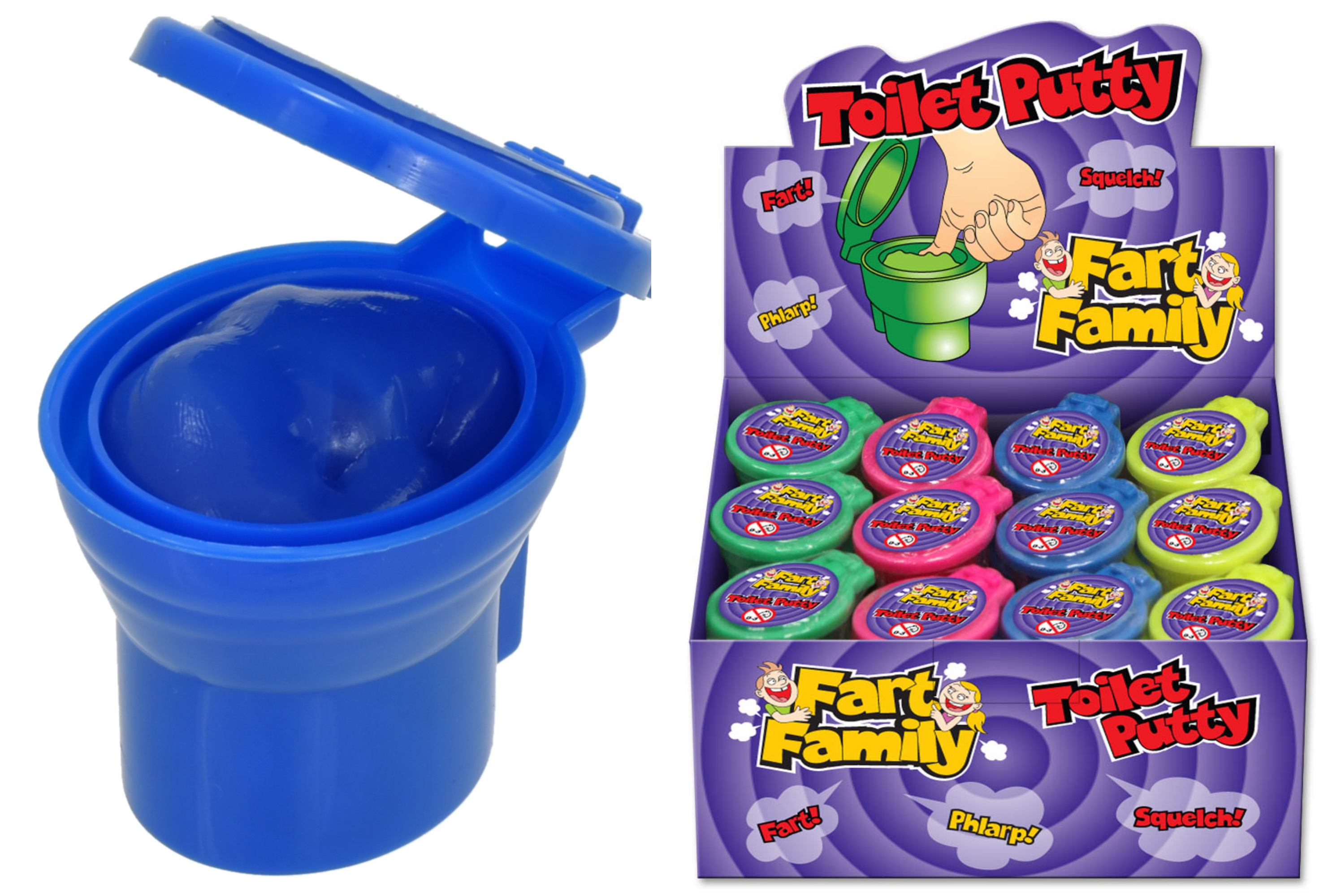 Small Toilet Putty (35g) In Display Box