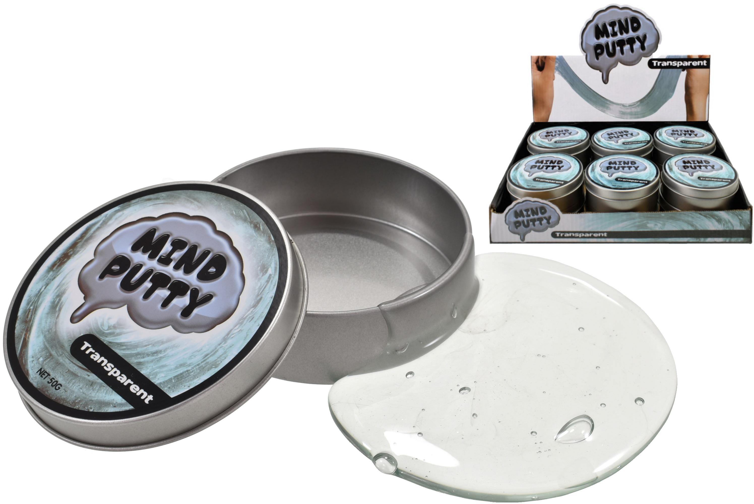 Transparent Mind Putty In Tin & Display Box