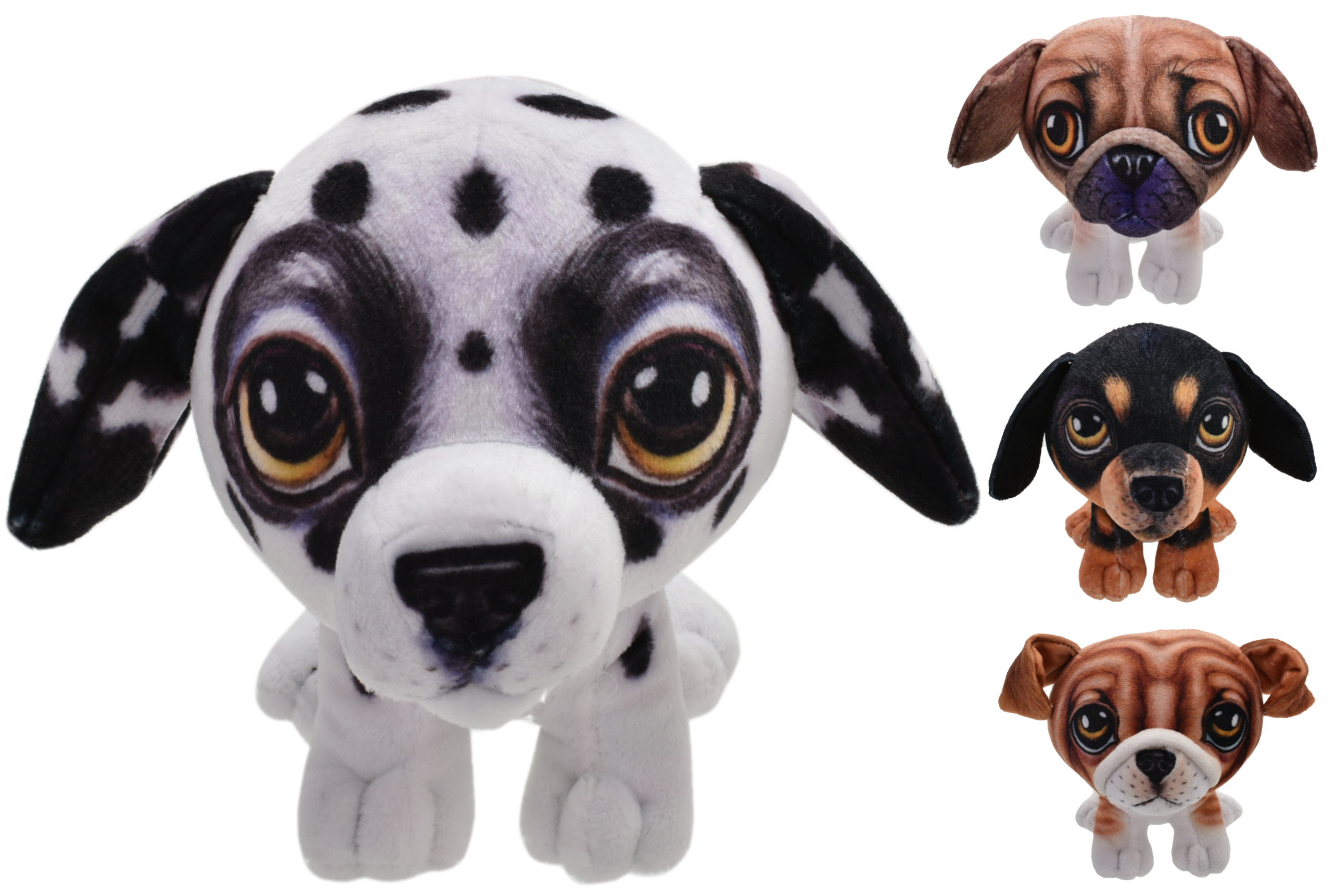 """5.5"""" Standing Dogs - 4 Assorted"""