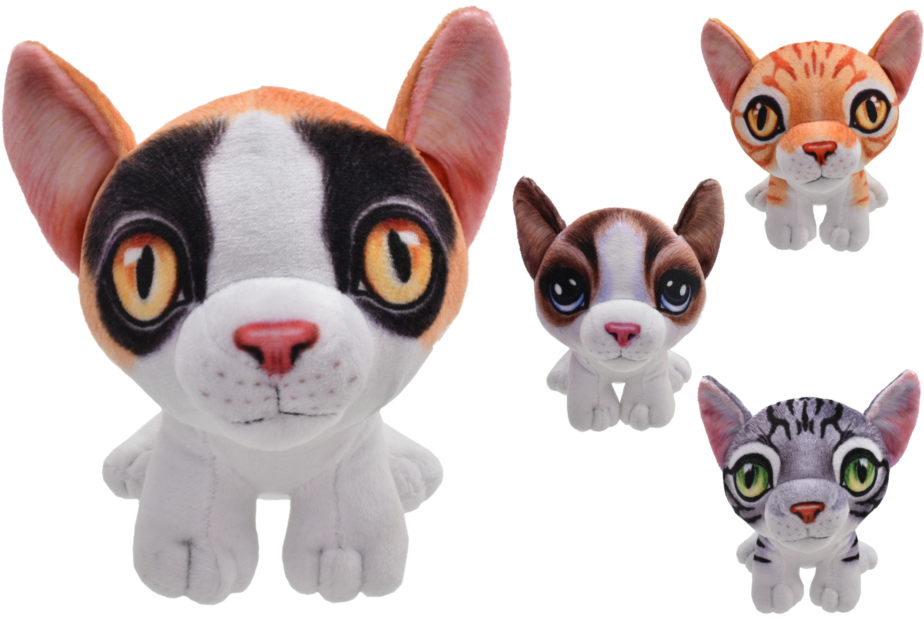"5.5"" Standing Cats - 4 Assorted"