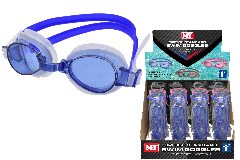 """""""M.Y"""" 6-12 Years Anti-Fog British Standard Goggles-D/B"""