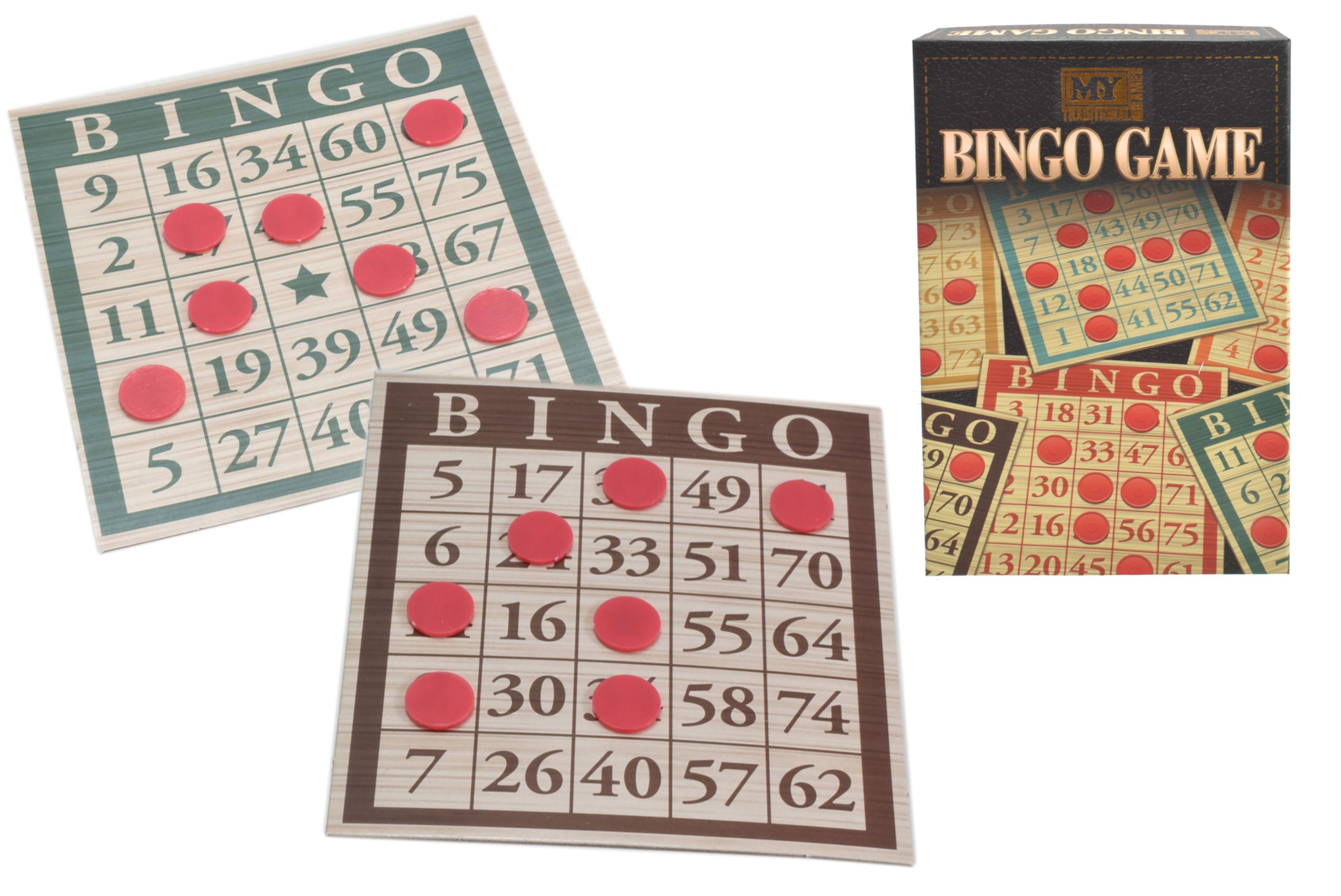 "Bingo Game In Colour Box ""M.Y"""