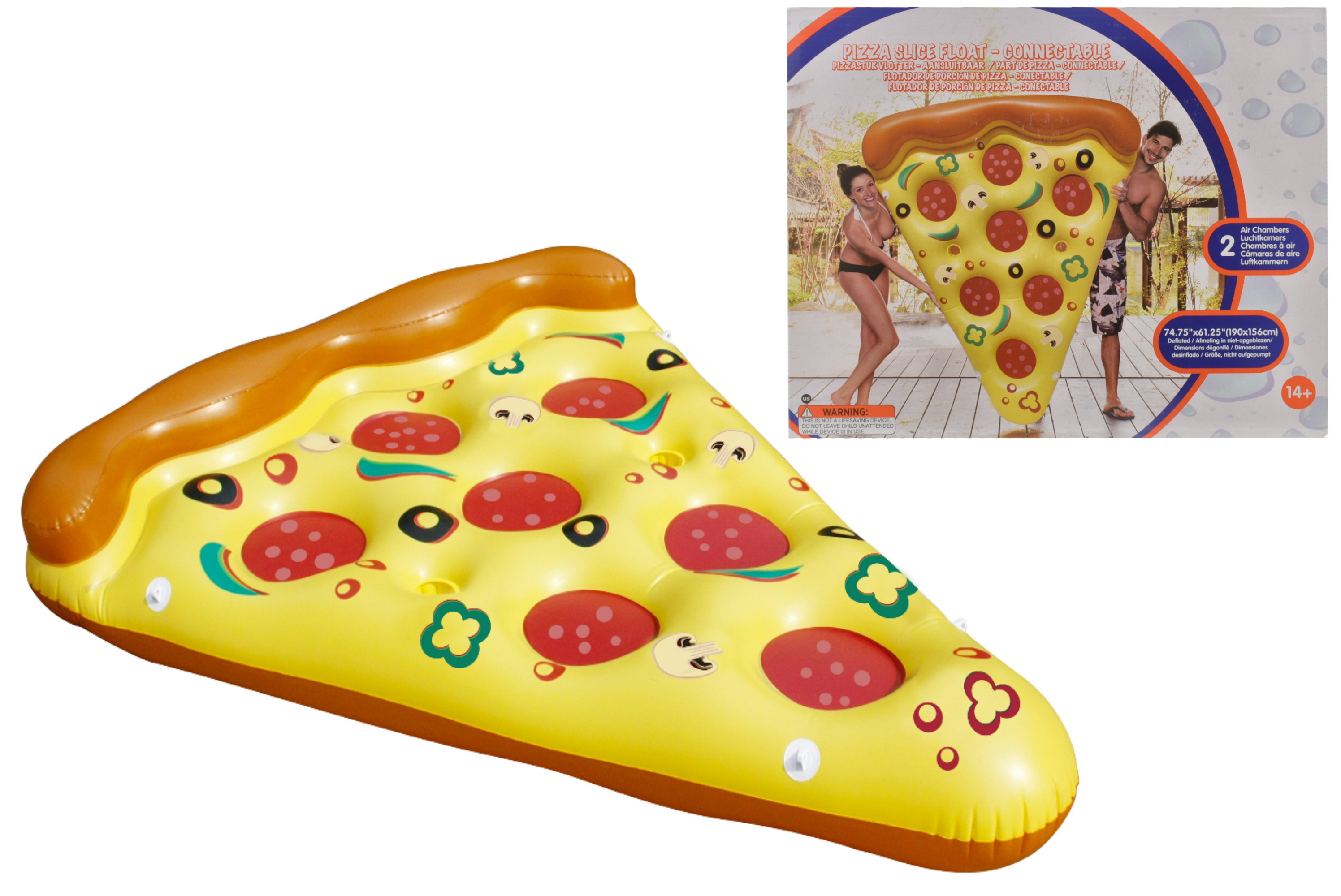 "Pizza Slice Float 75"" x 61"""