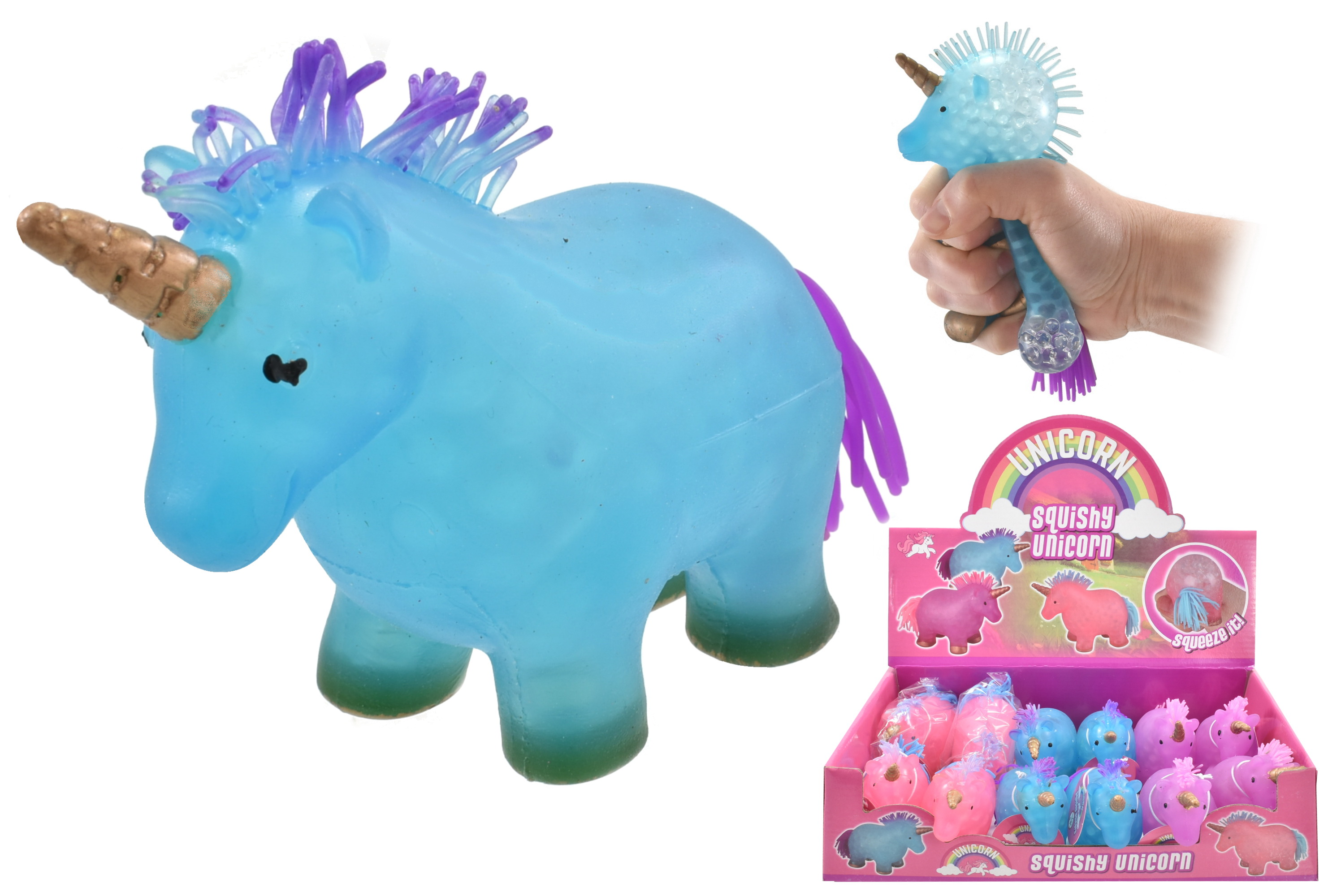 Squeezy Crystal Unicorn In Display Box