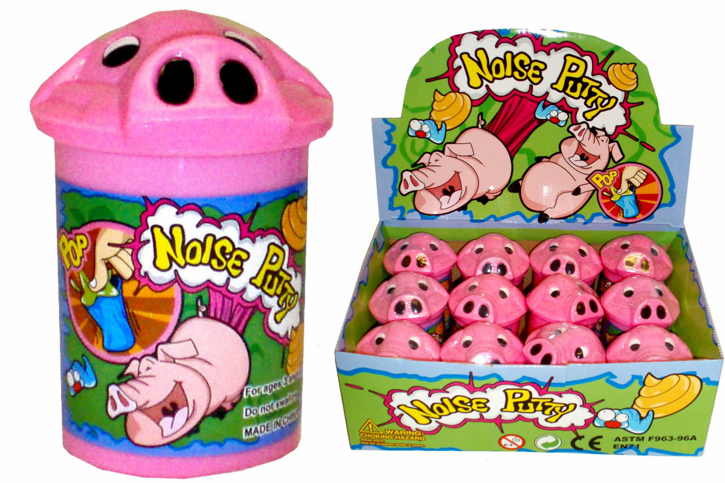 Pig Noise Putty In Display Box
