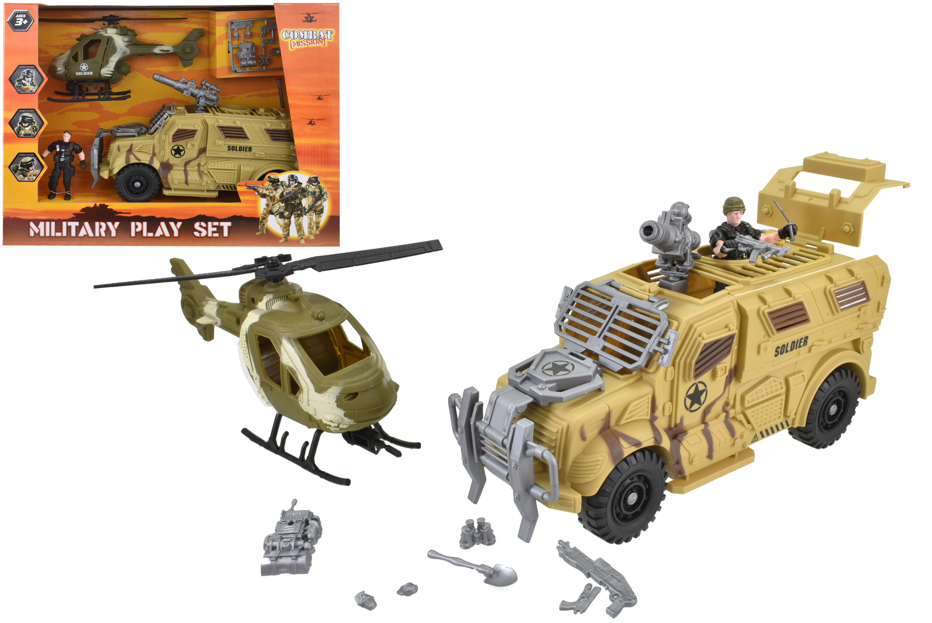 "Military Playset ""Combat Mission"""