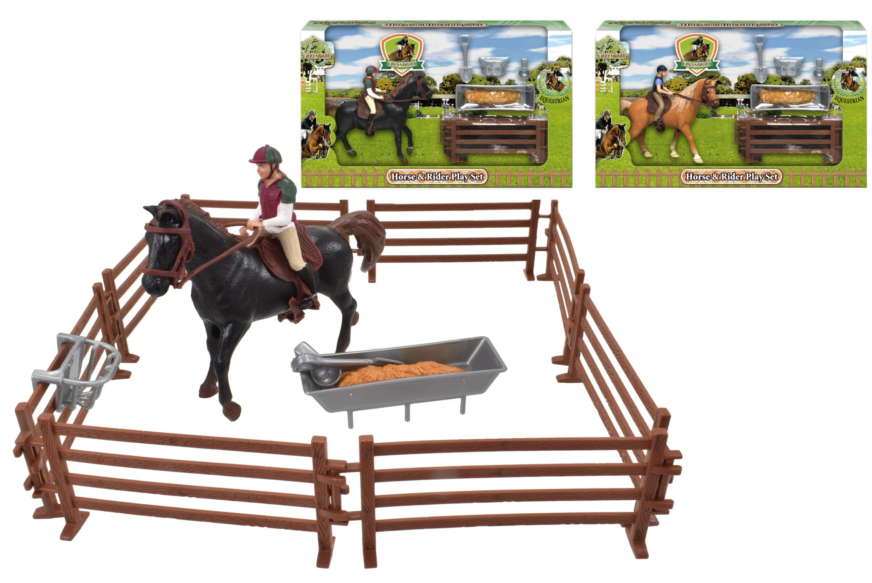 Horse & Rider Playset (2 Assorted)