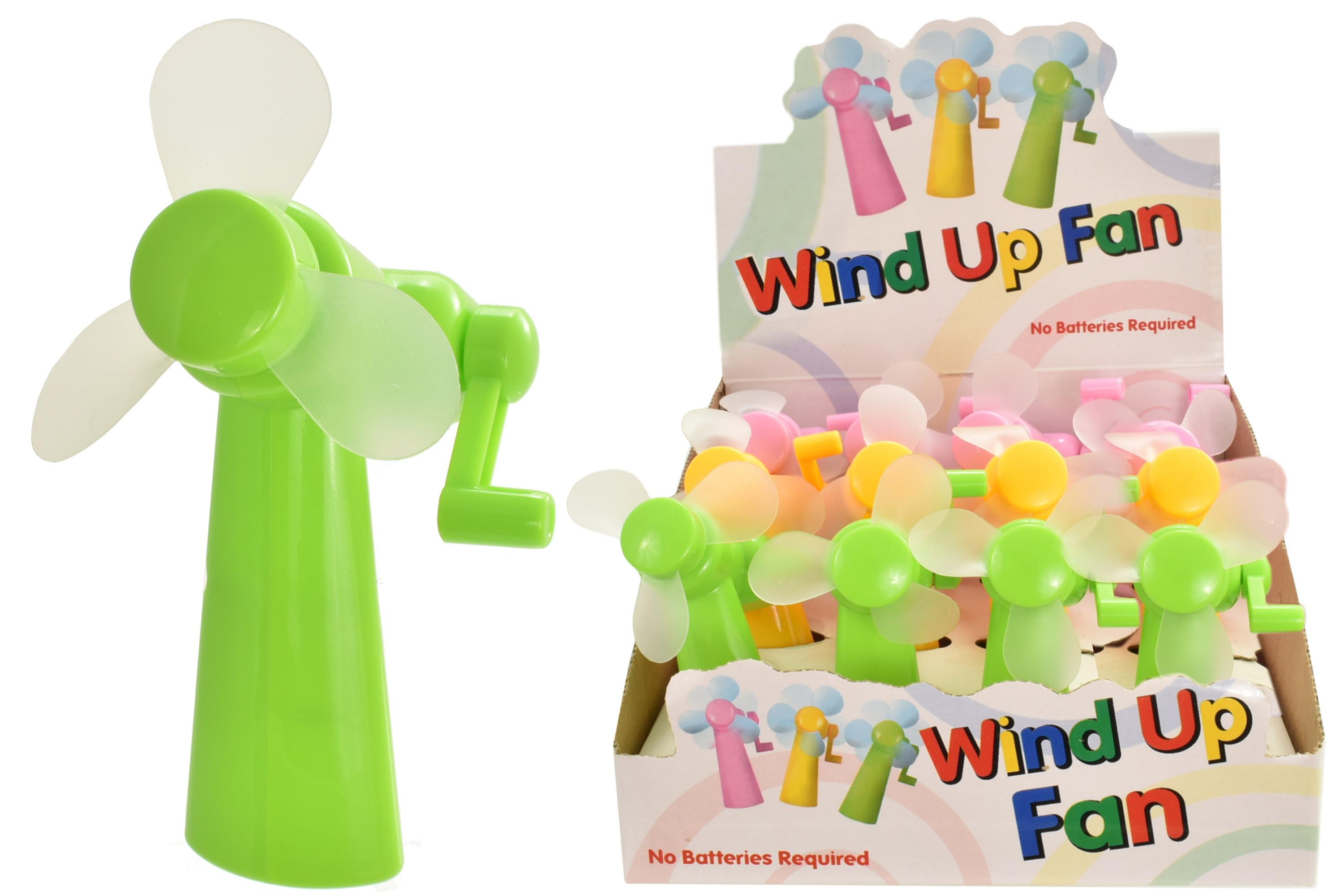 Wind Up Fan In Display Box