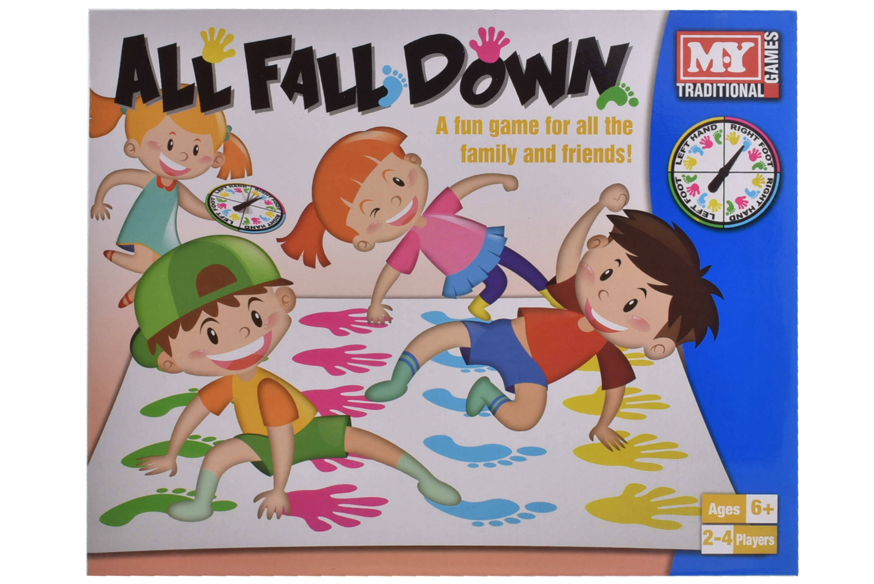 """""""All Fall Down"""" Game In Colour Box"""