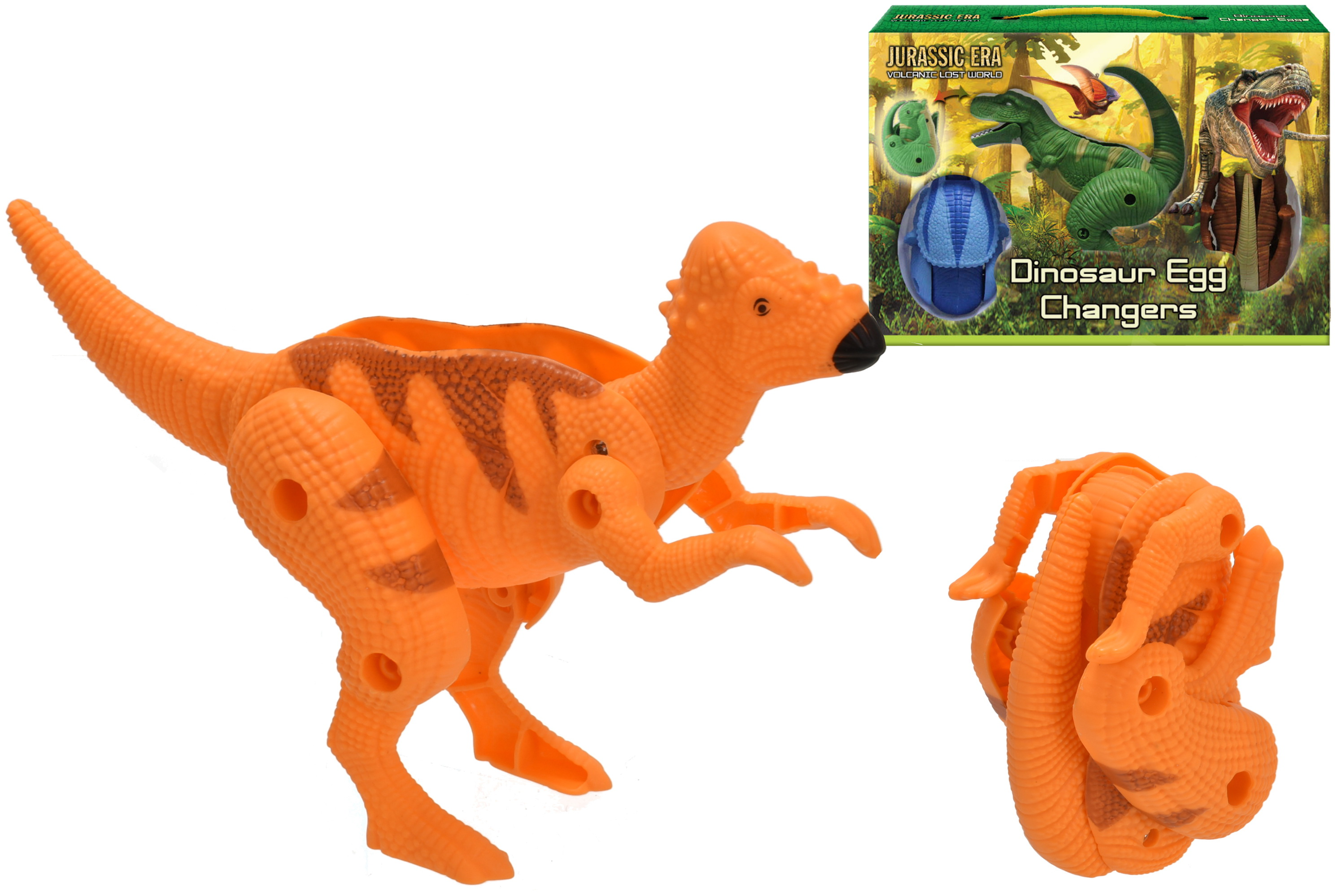 3pc Dinosaur Egg Changers In Colour Box