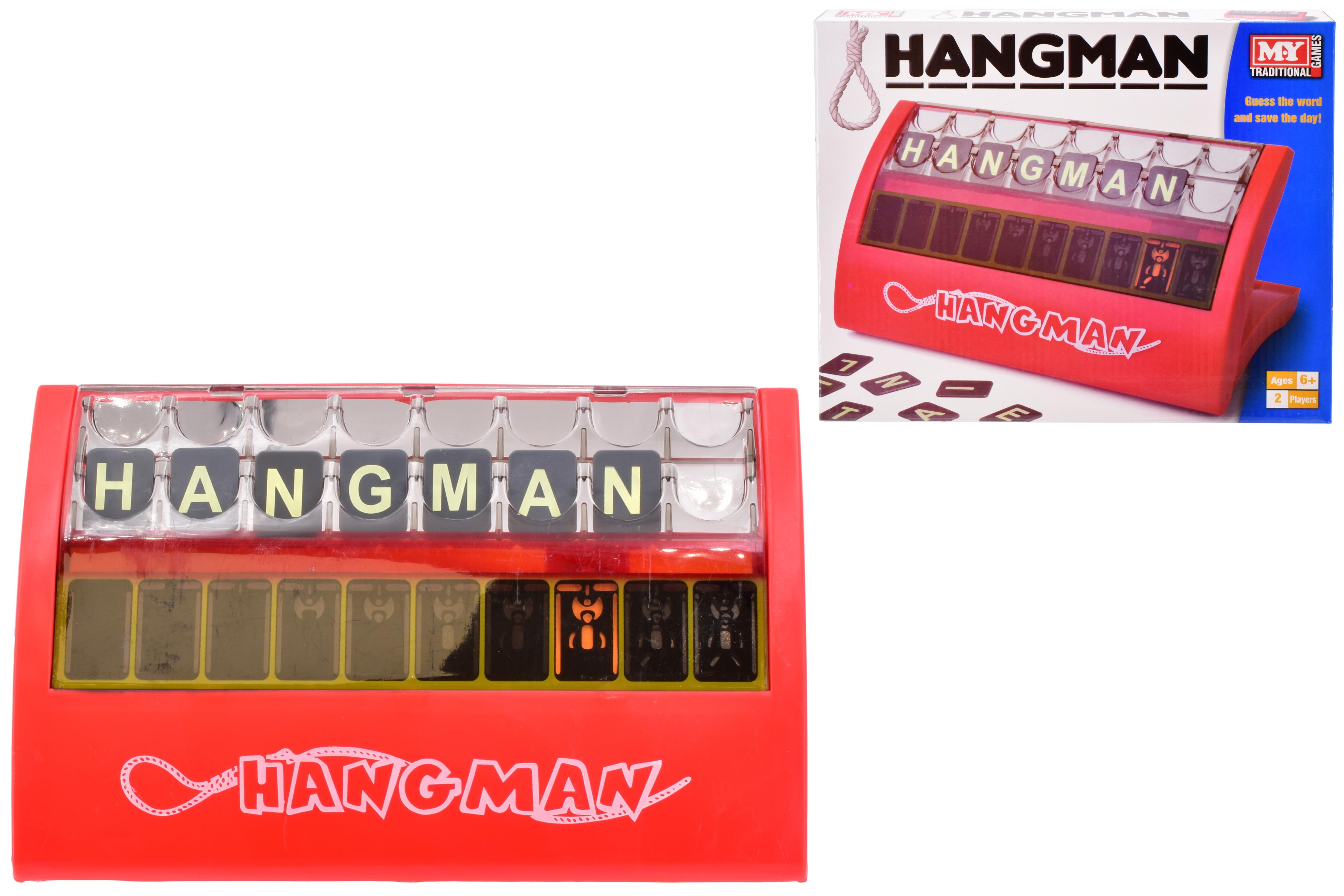 Hangman Game In Colour Box