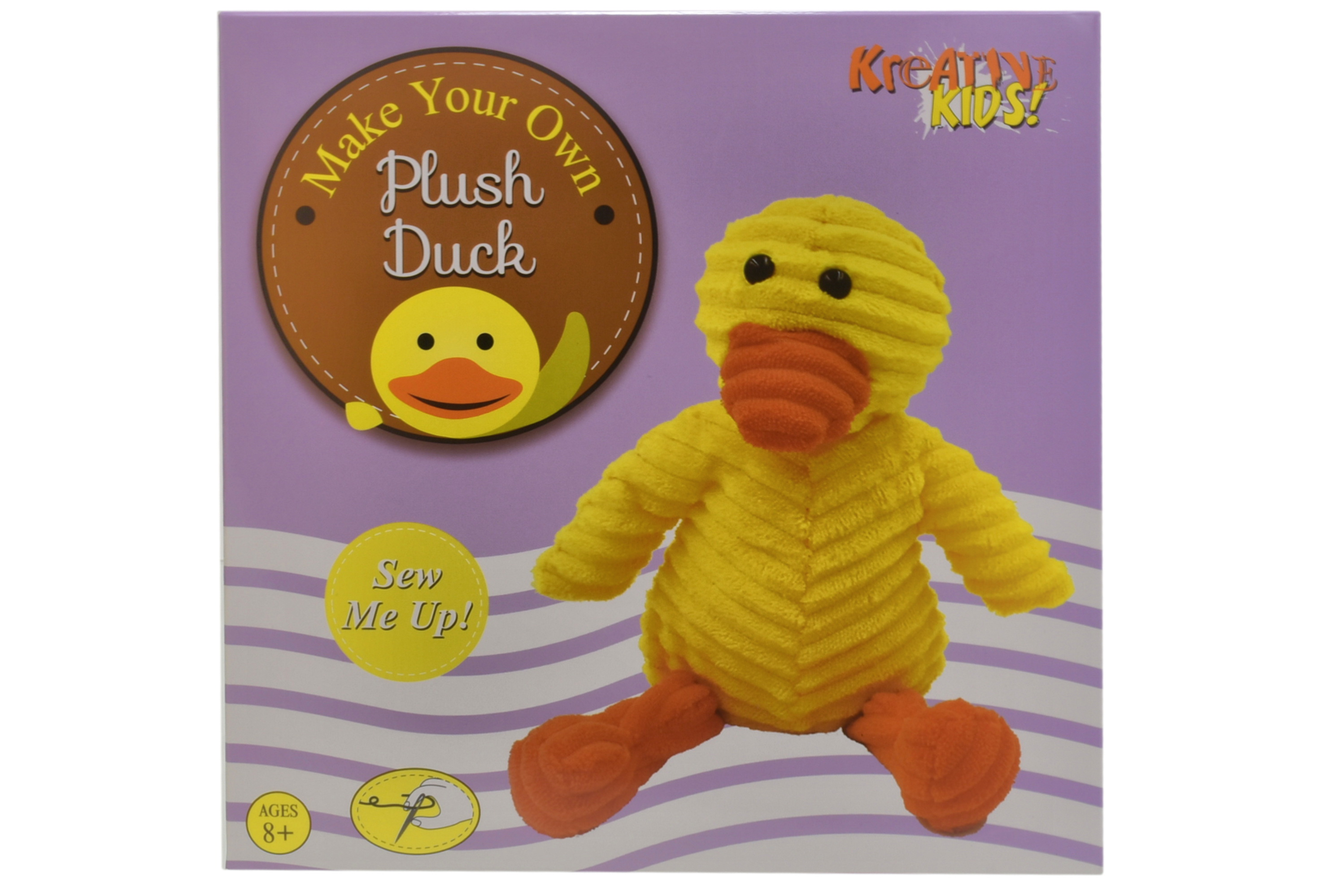 Make Your Own Plush Duck In Colour Box