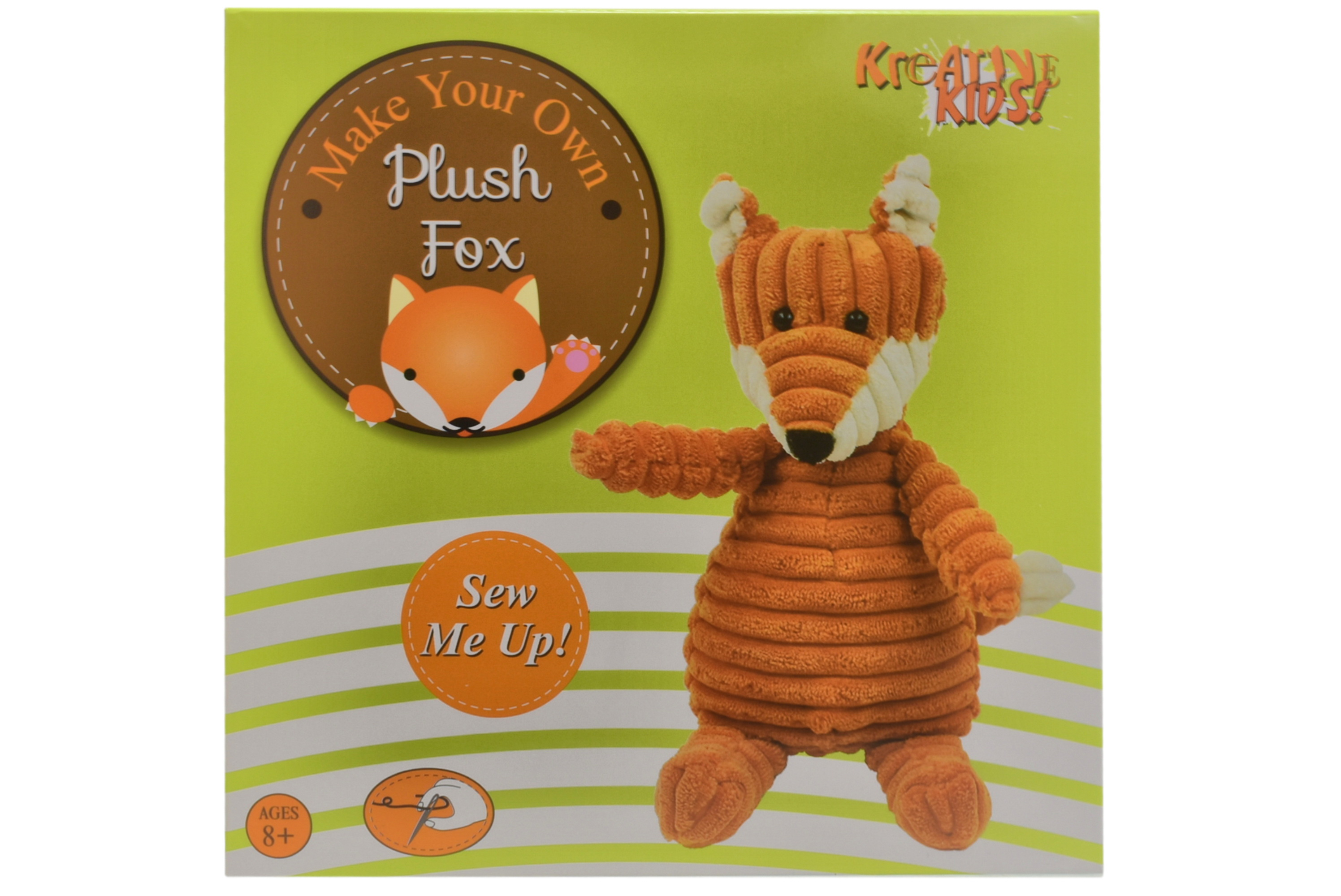 Make Your Own Plush Fox In Colour Box