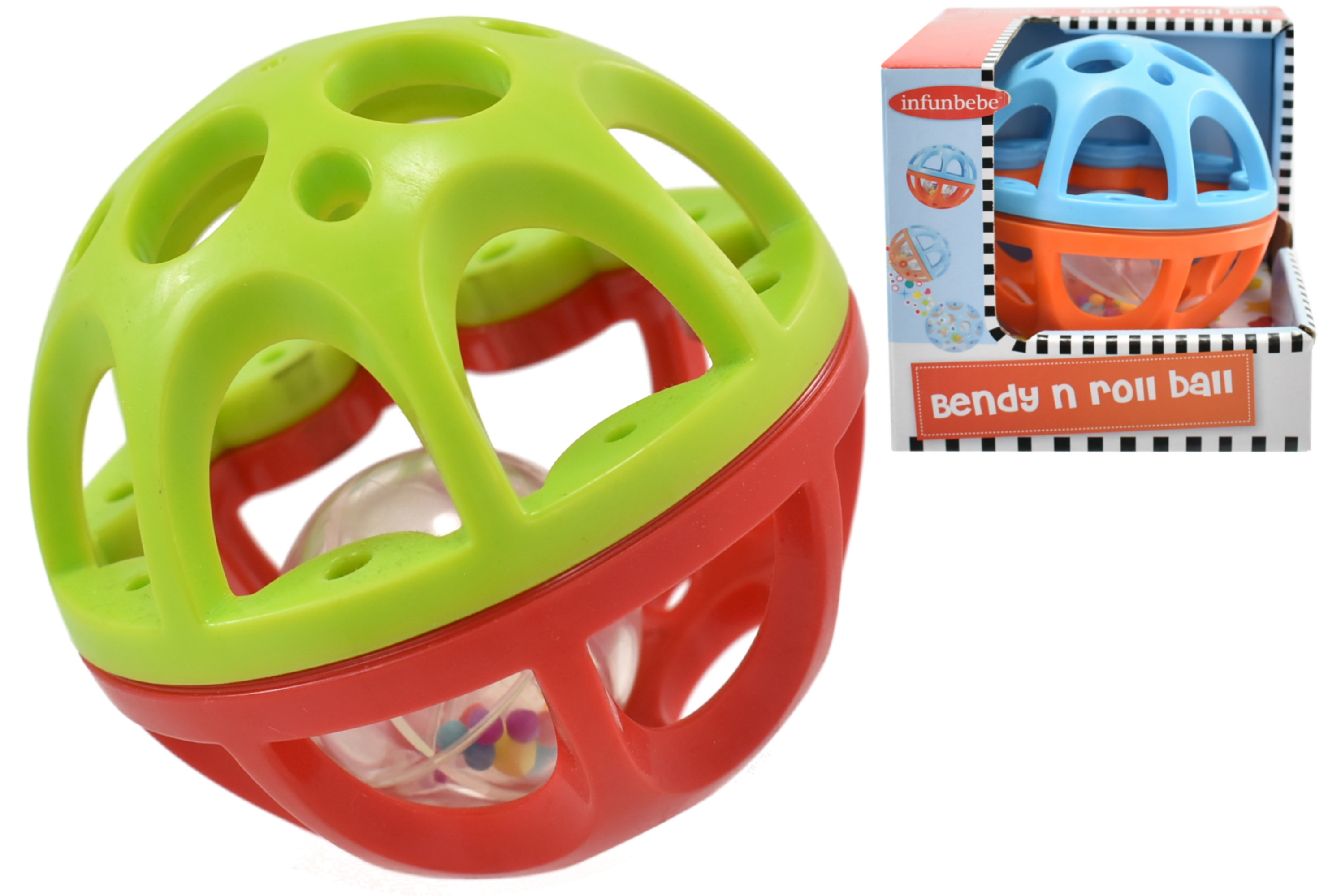 Bendy N Roll Ball In Open Touch Box - 6m+