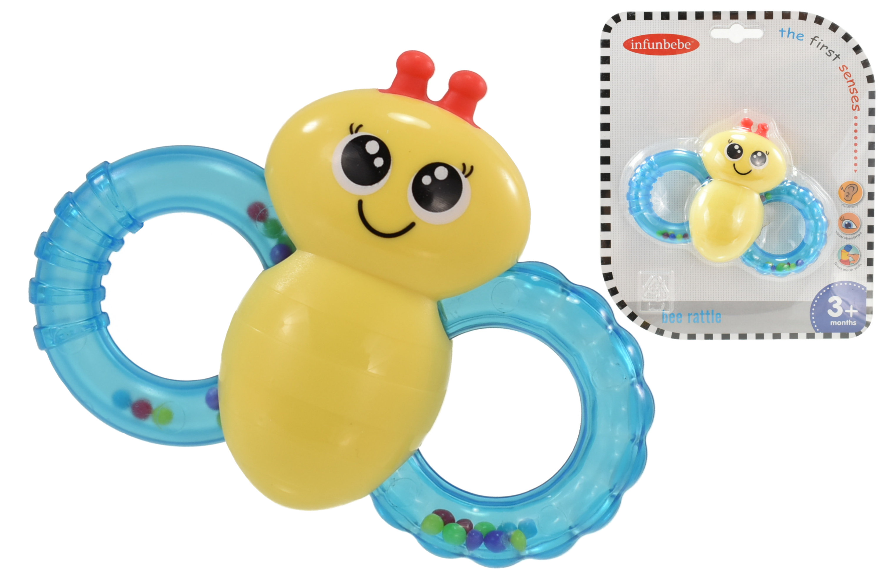 Bee Rattle - Blistercard - 3m+