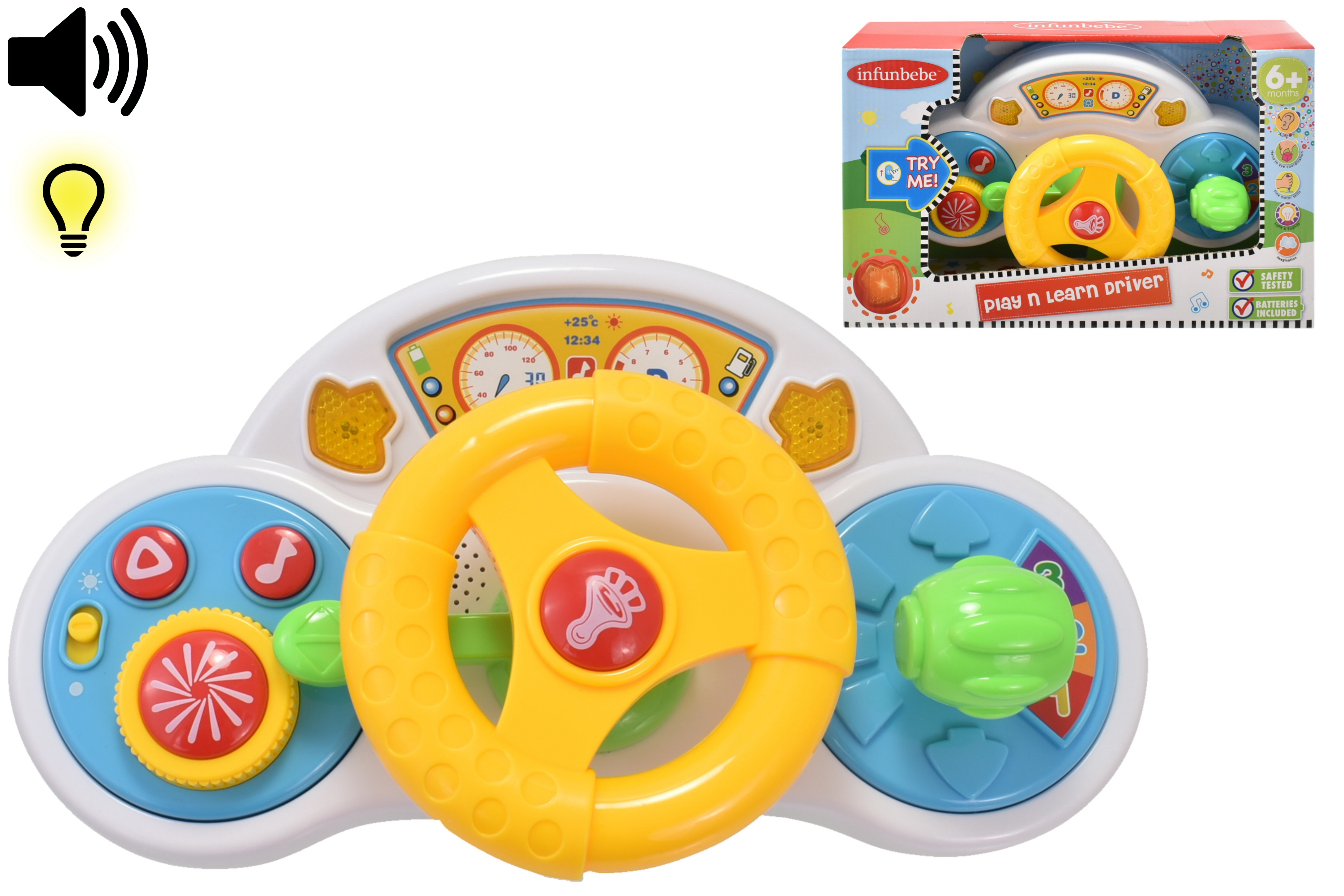 """Play N Learn Driver """"Try Me"""" In Open Touch Box - 6m+"""