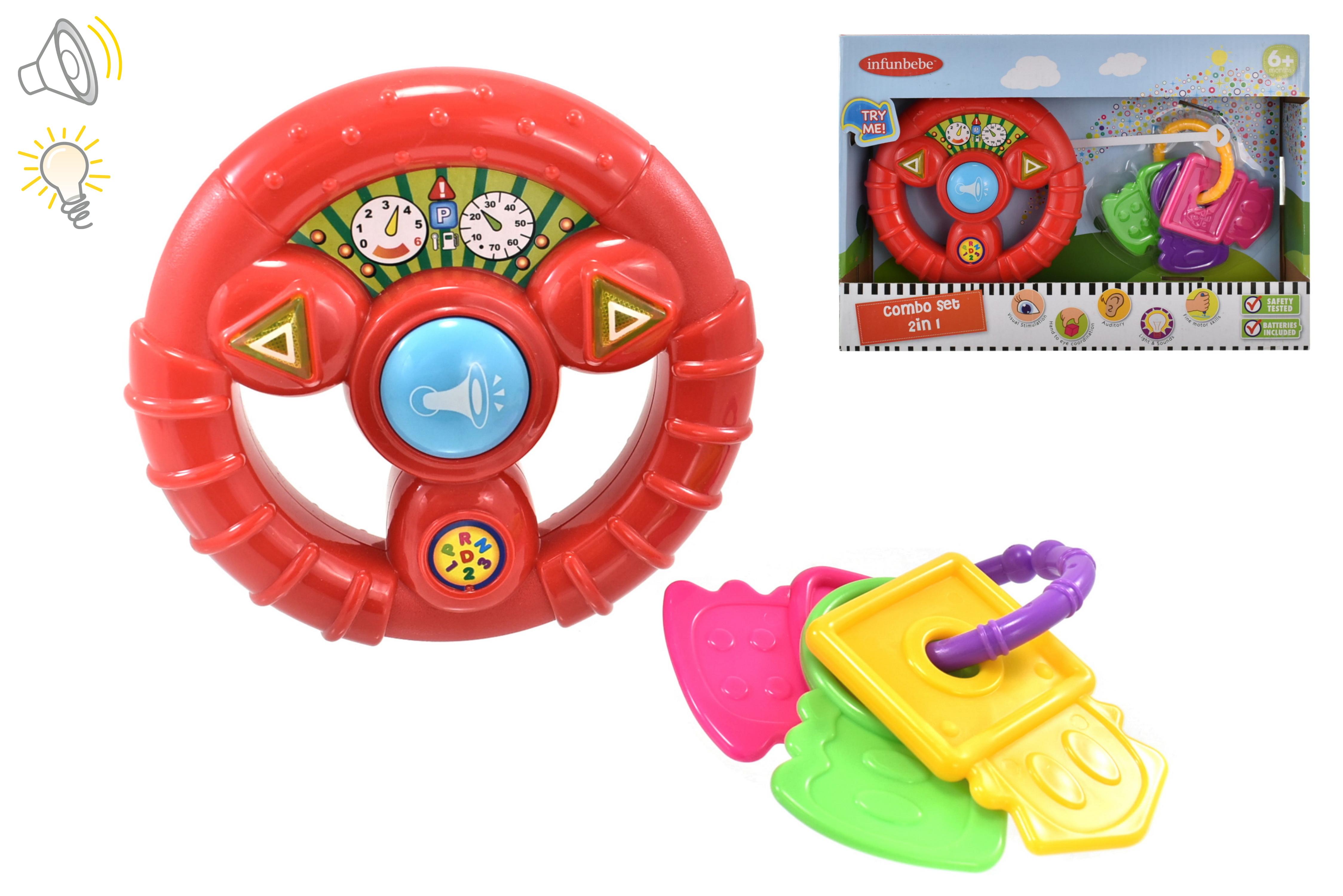 "Baby Combo Play Set ""Try Me"" (Steering Wheel) 6m+"
