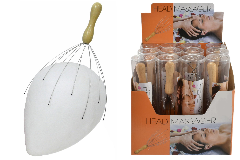 Head Massager In P.E.T Tube & Display Box