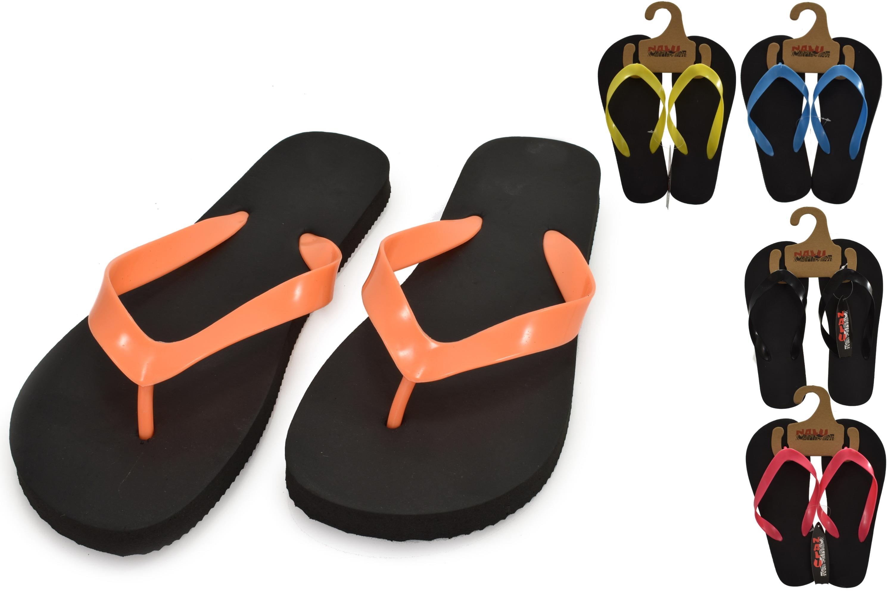 Flip Flop Adults Size 7 Plain Colour